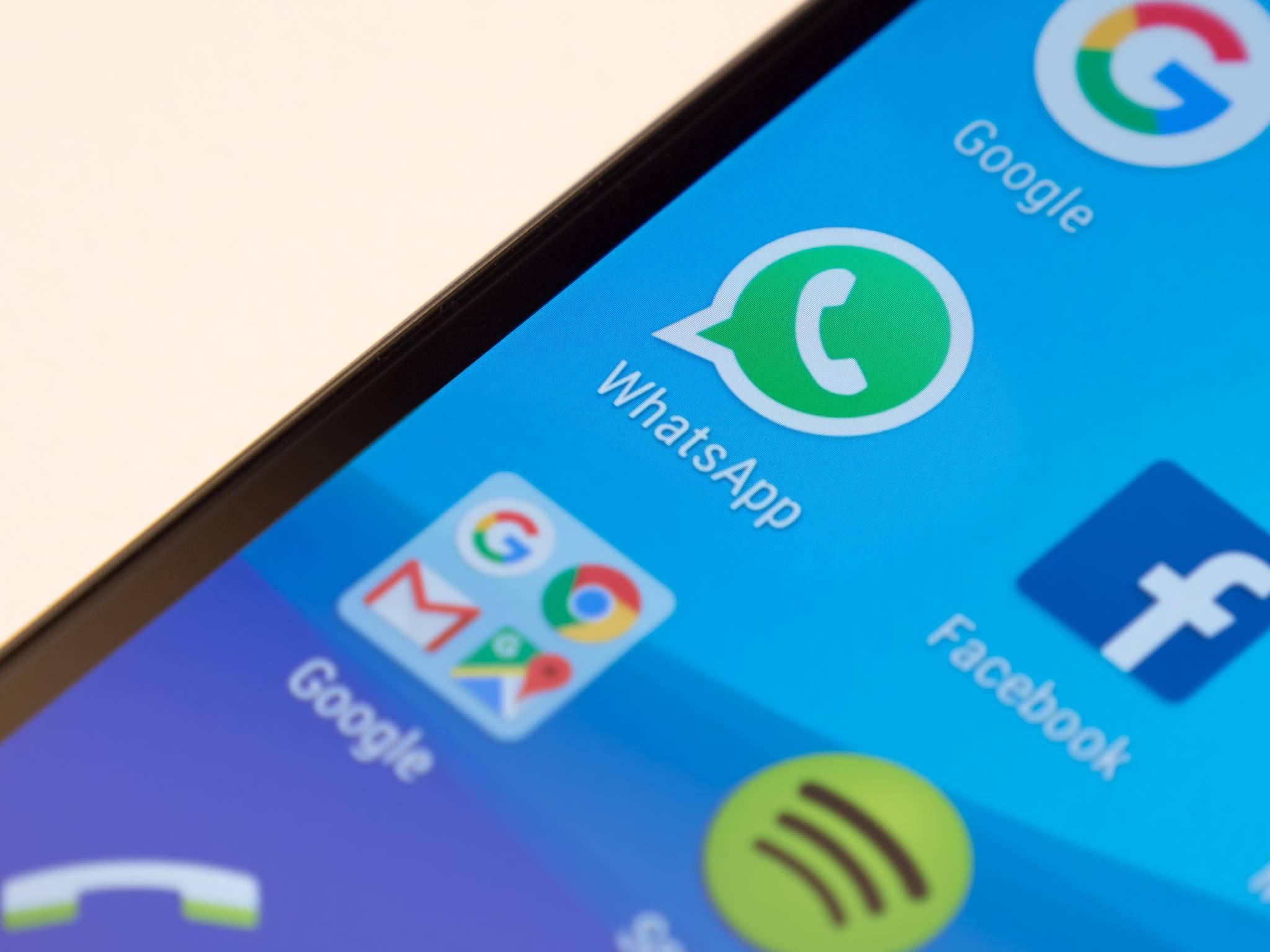 2015 arbeiteten nur eine Handvoll Leute an der Android-Version von WhatsApp.