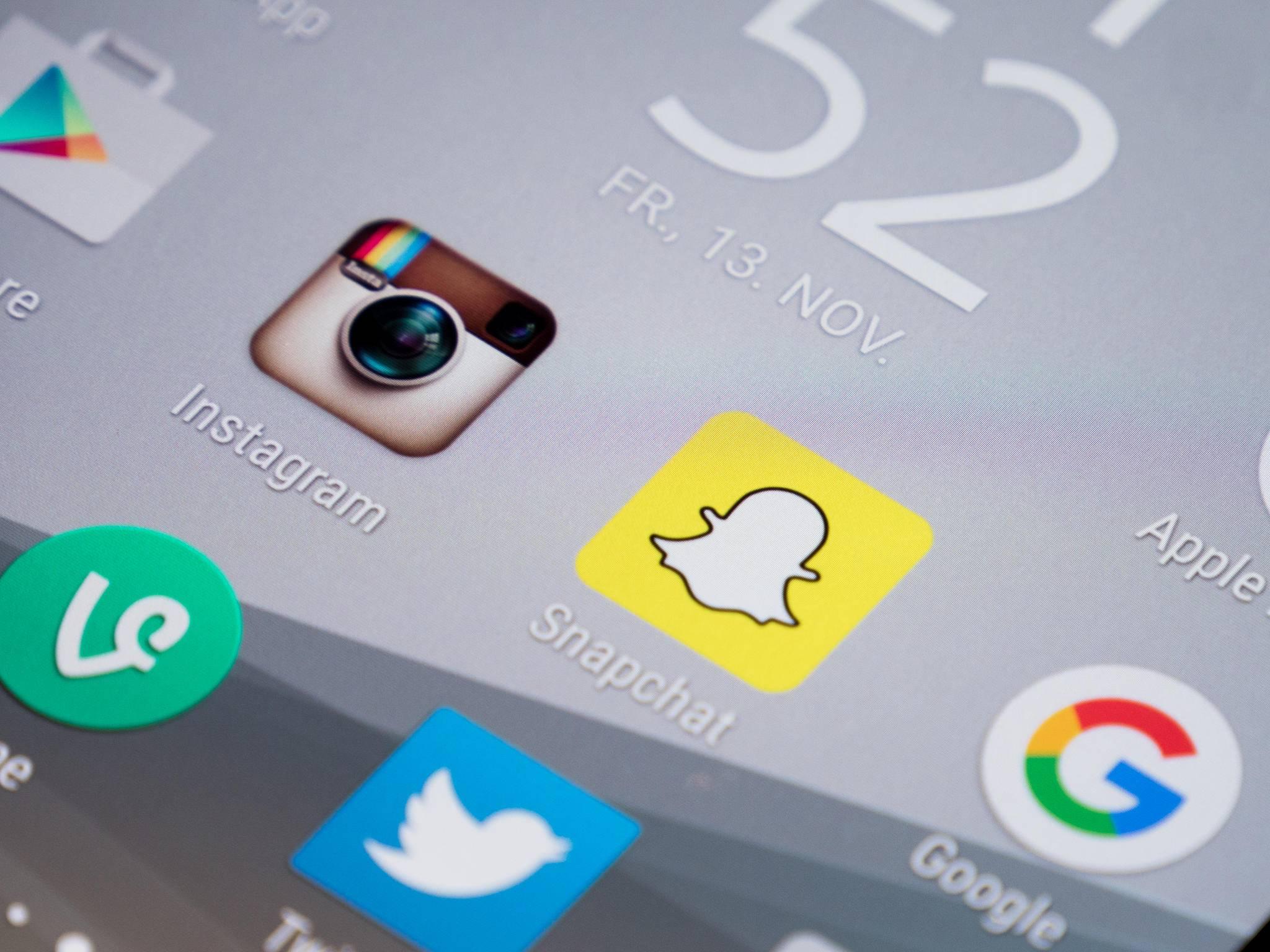 iPhone-Besitzer bekommen die Snapchat-Neuerungen zuerst.
