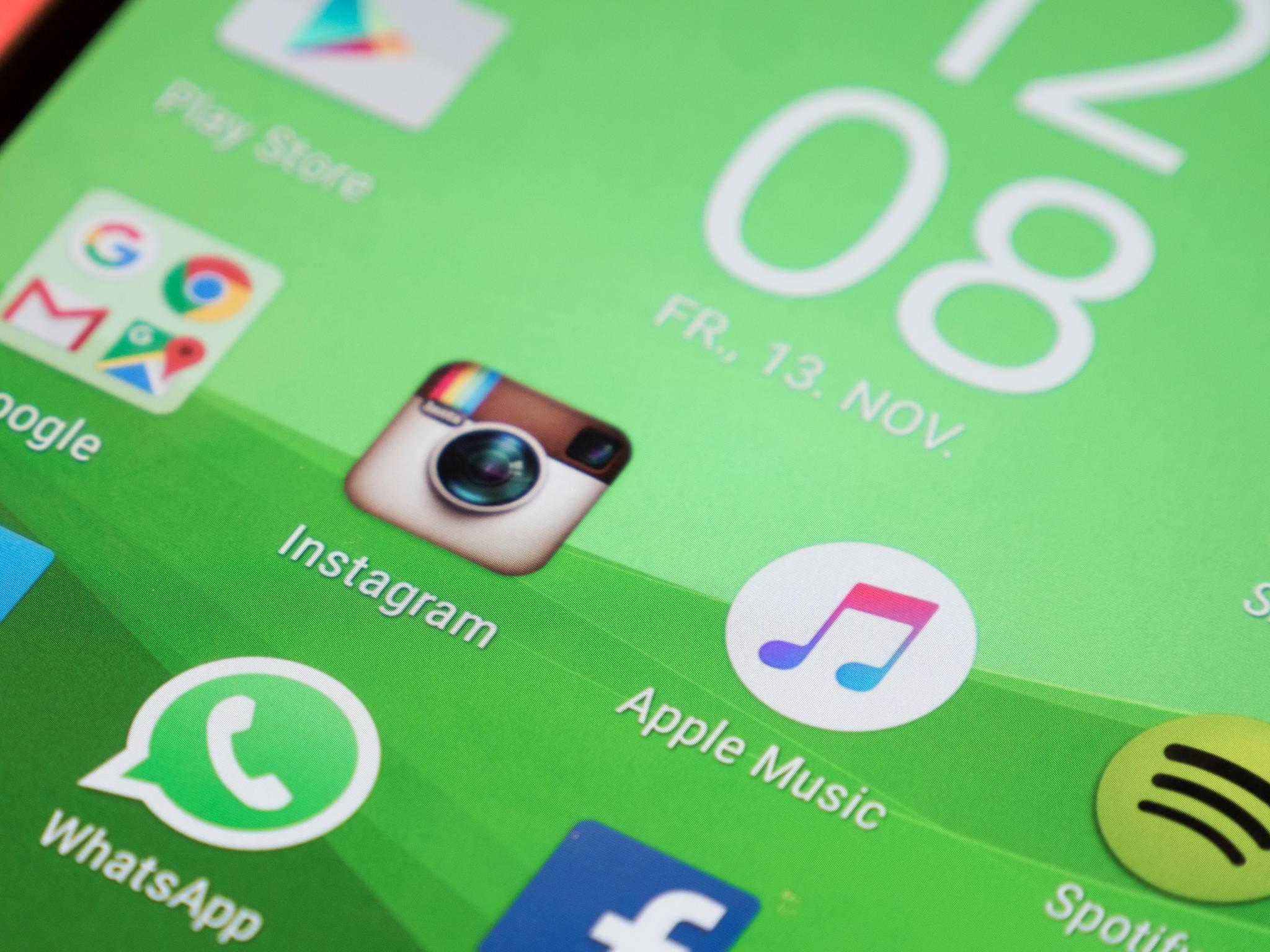 Instagram, Apple Music