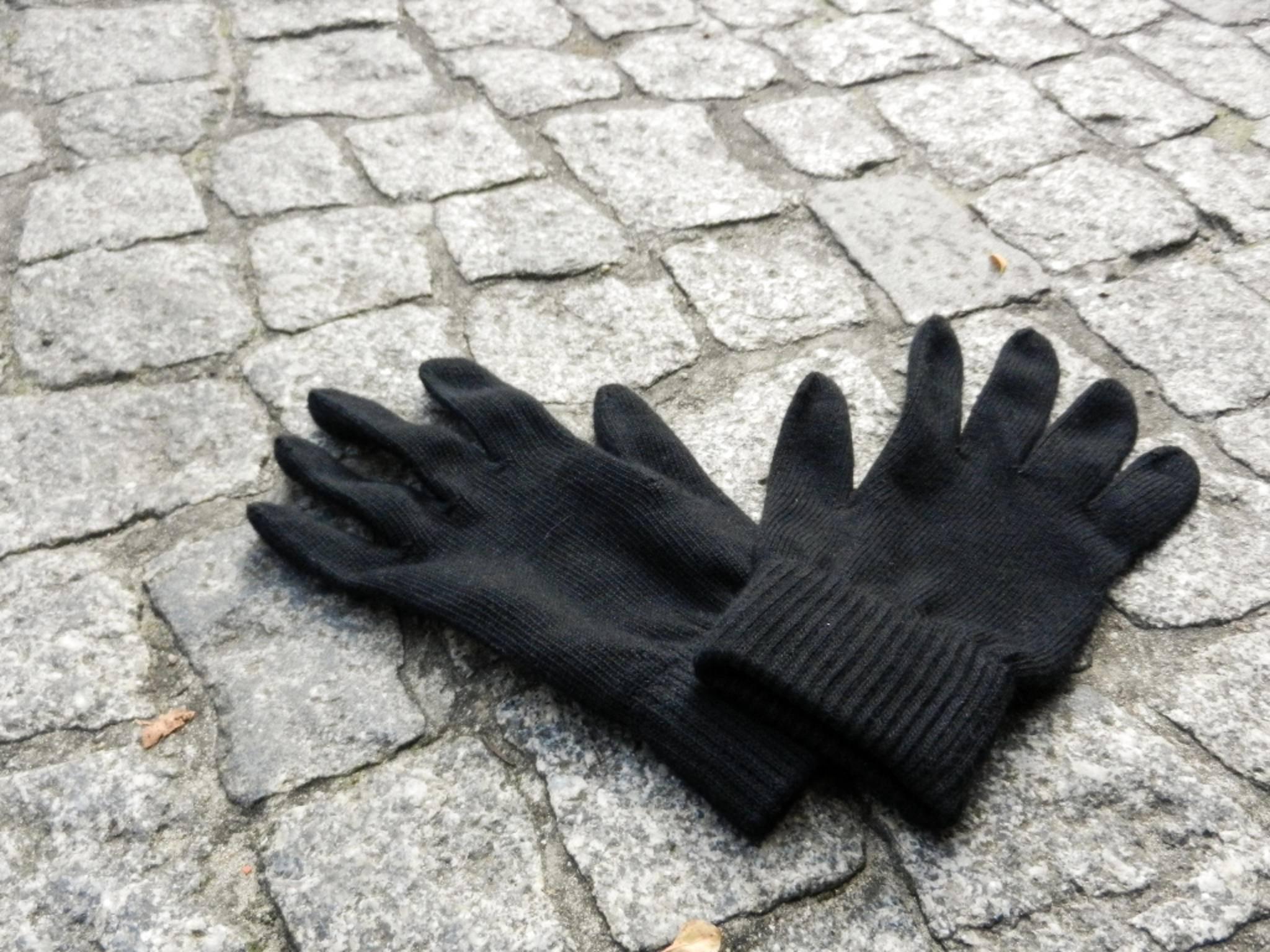 Diese Handschuhe sehen aus wie ganz normale Fingerwärmer.