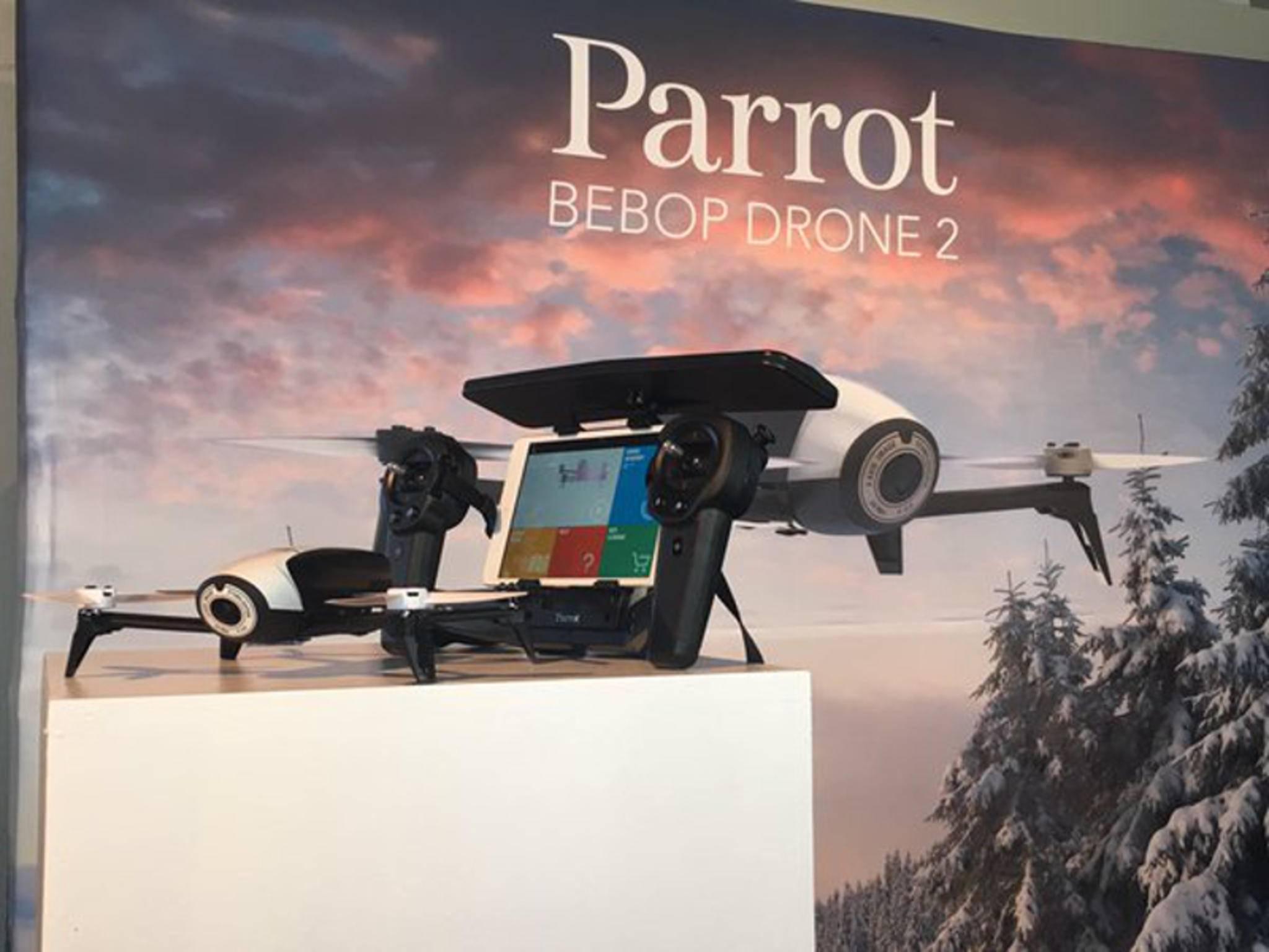 Parrot hat die Bebop 2 mit längerer Flugdauer enthüllt.