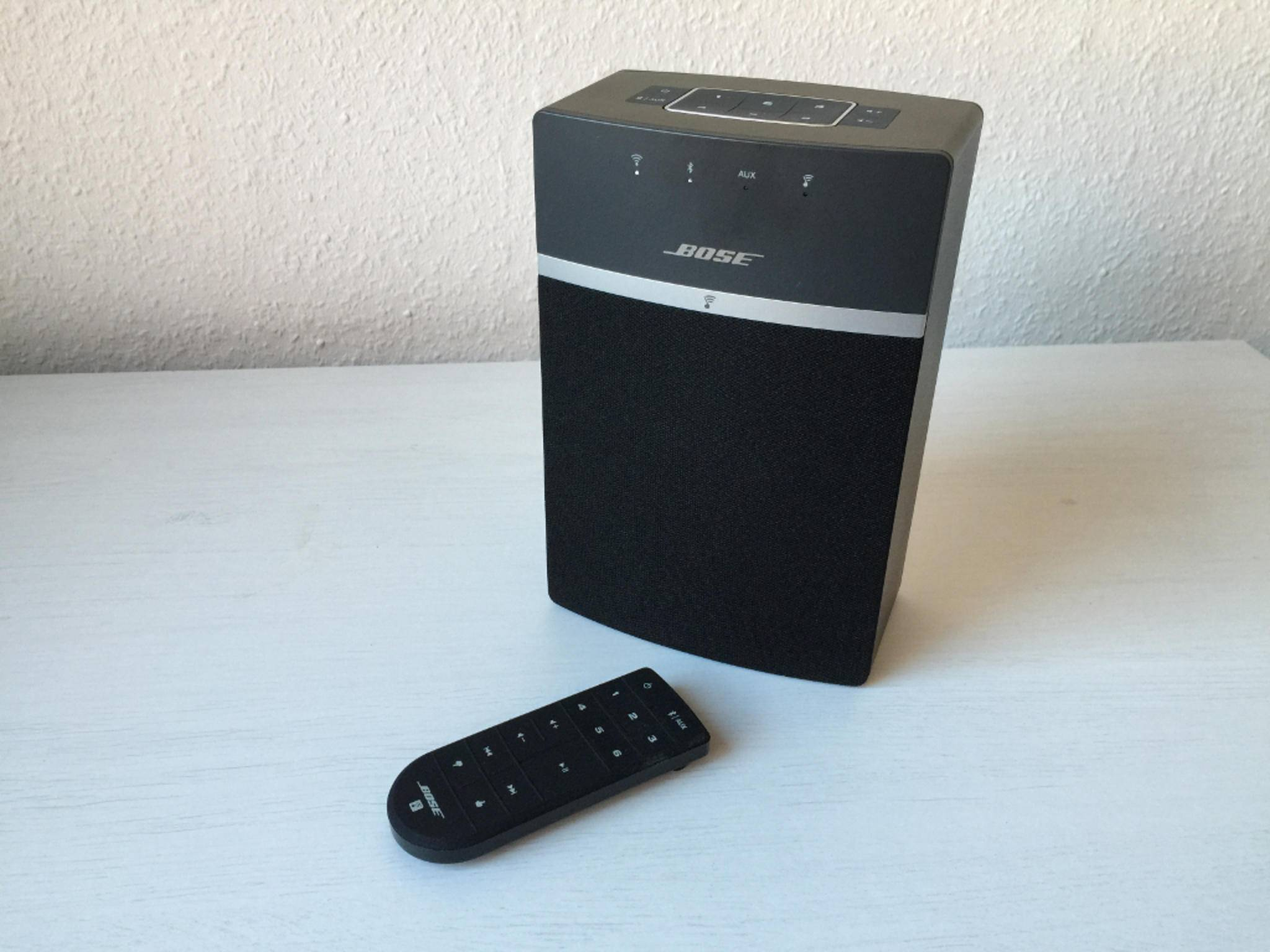 Die Verbindung mit dem WLAN klappt beim Bose SoundTouch 10 sehr leicht.