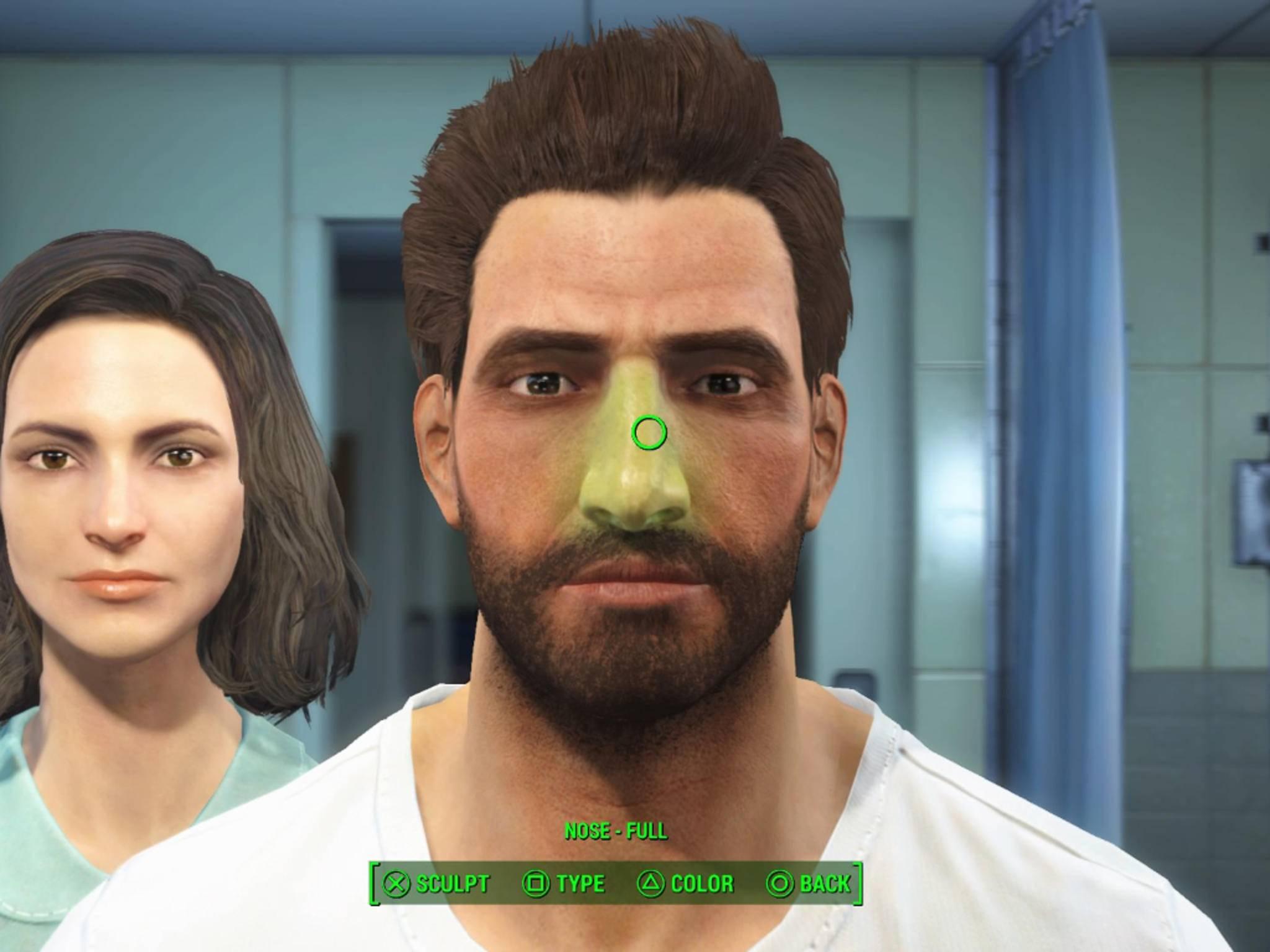 Am Anfang des Spiels steht ein umfangreicher Charakter-Editor.