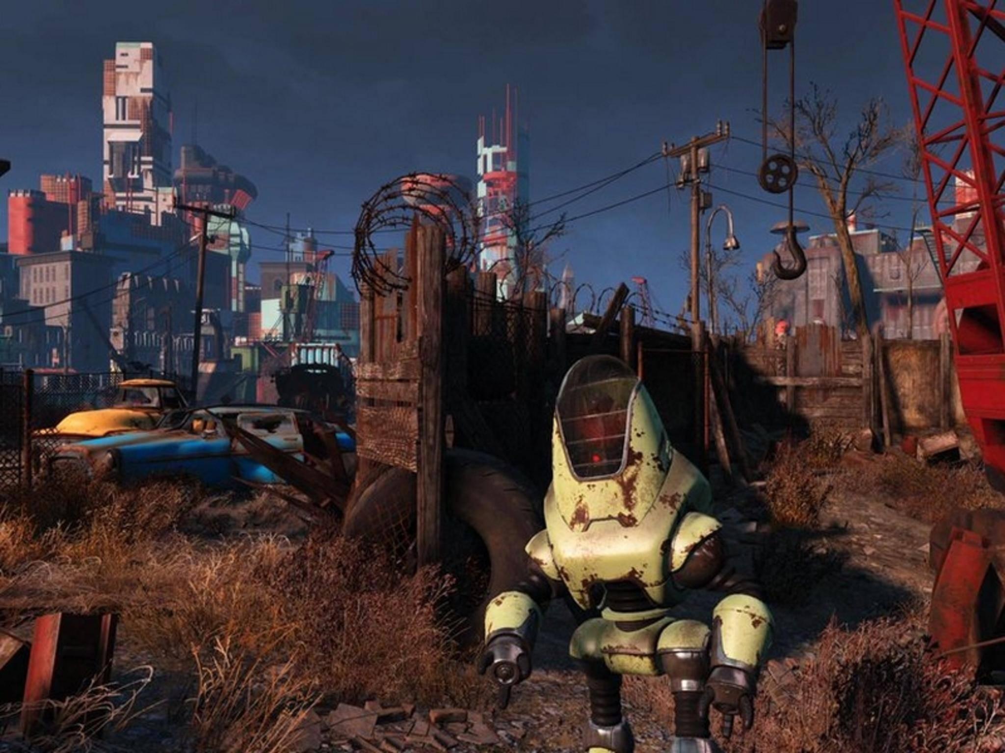 """Der Hype um """"Fallout 4"""" wird mit Fallout C.H.A.T. angeheizt."""