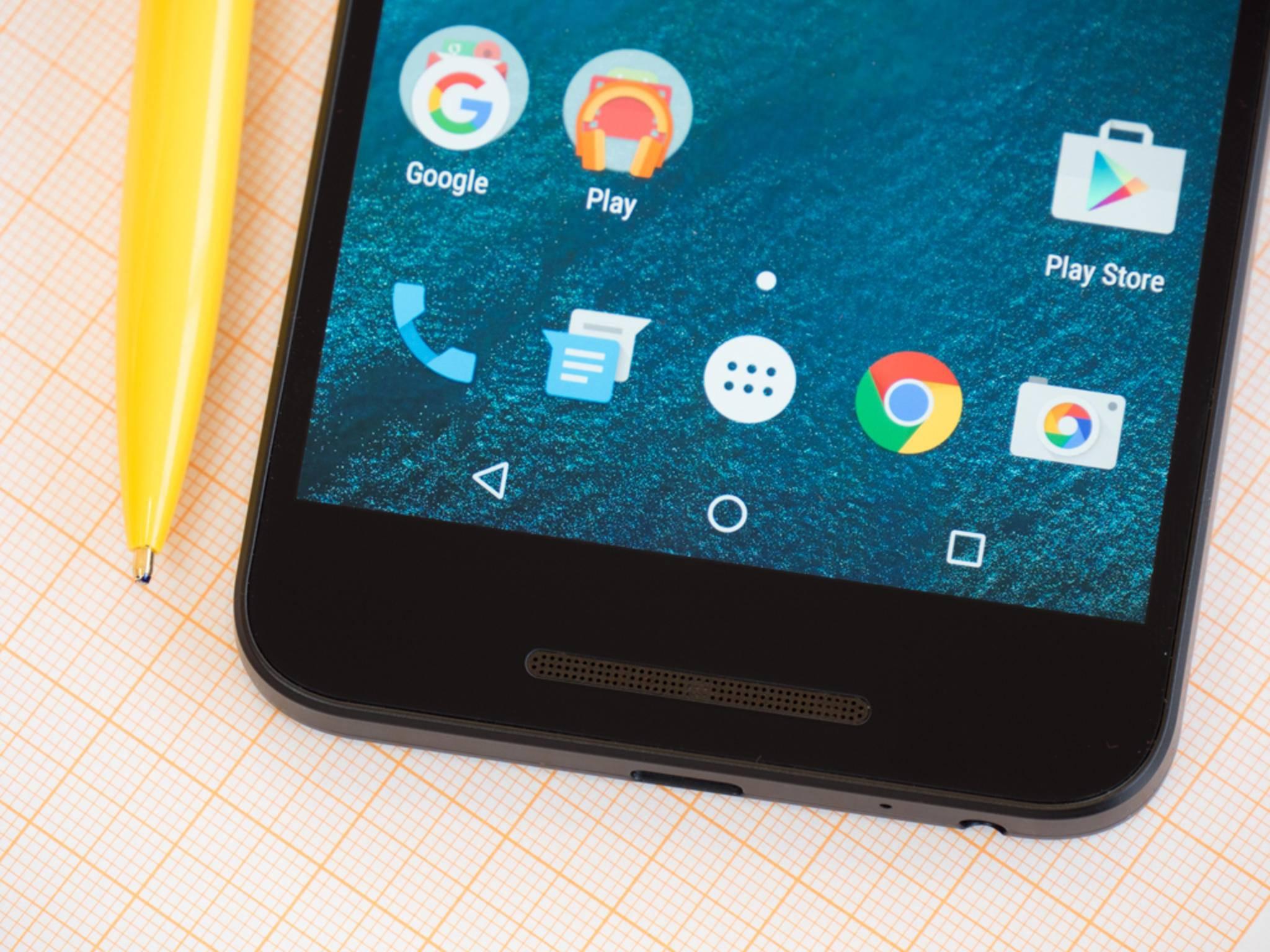 Auf dem Smartphone läuft Android 6.0 Marshmallow.