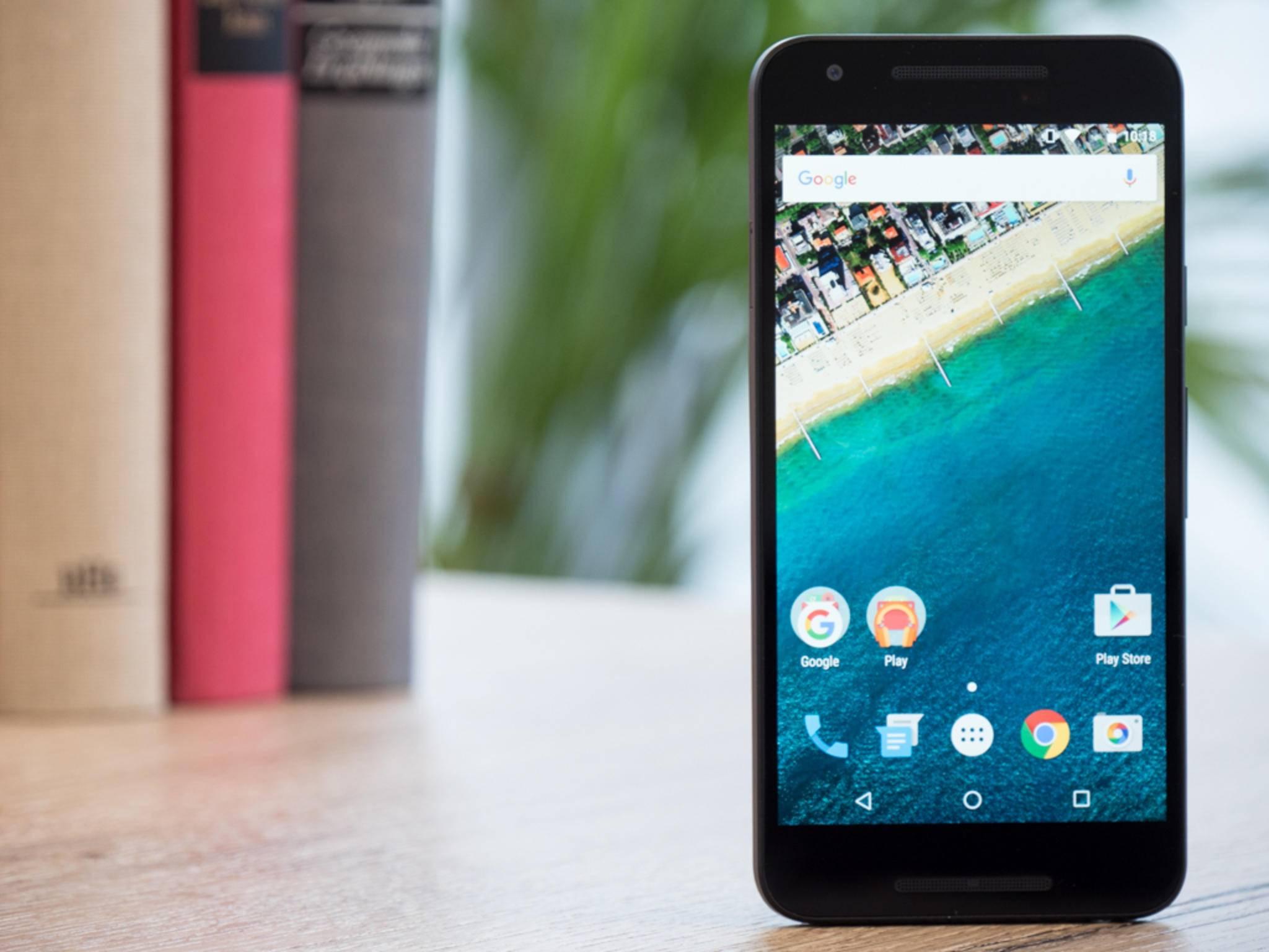 Das Nexus 5X wird von LG für Google gebaut.
