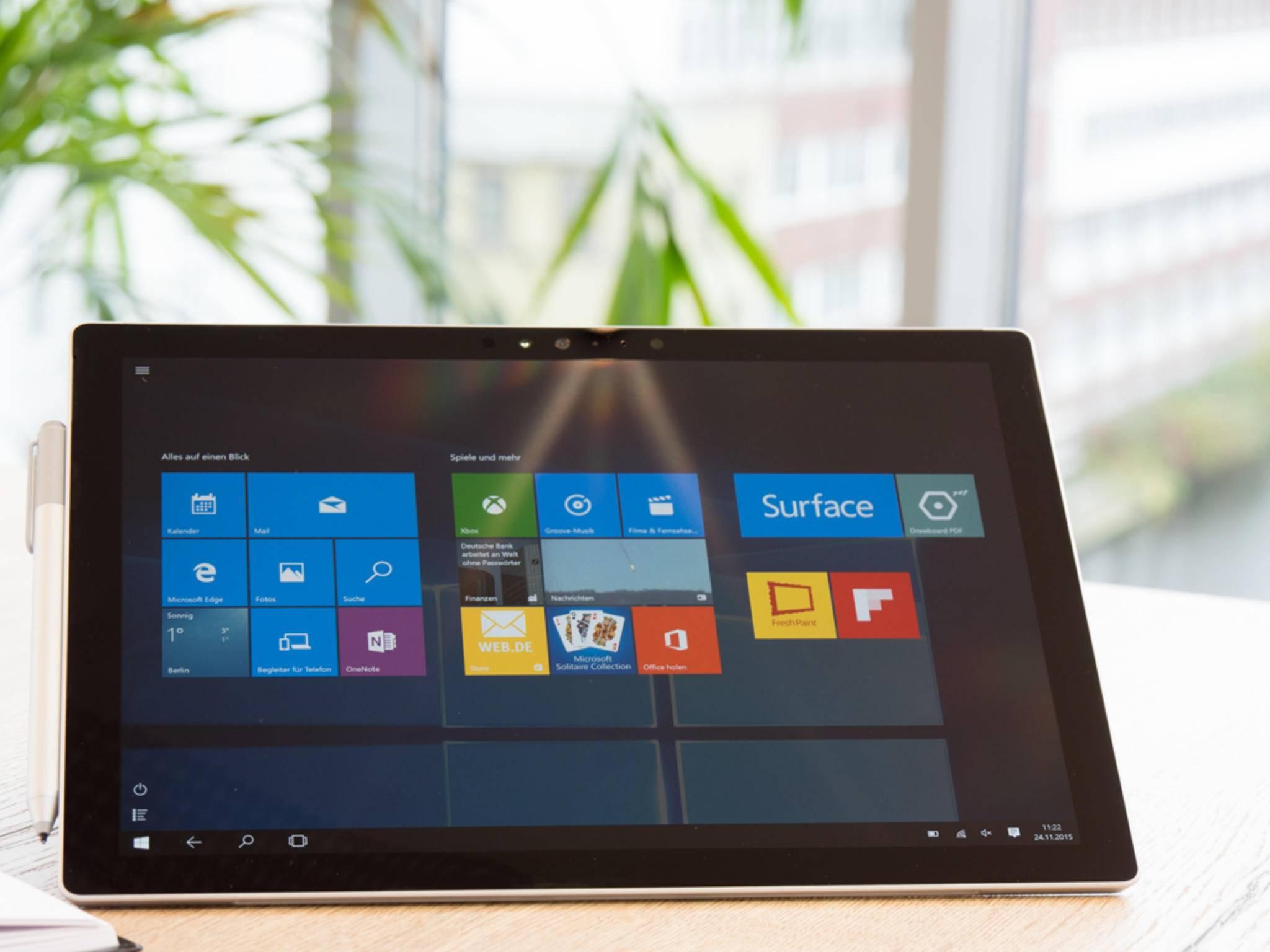 Voraussichtlich erhält das Surface Pro 4 ein Prozessorupgrade, aber noch keinen Nachfolger.