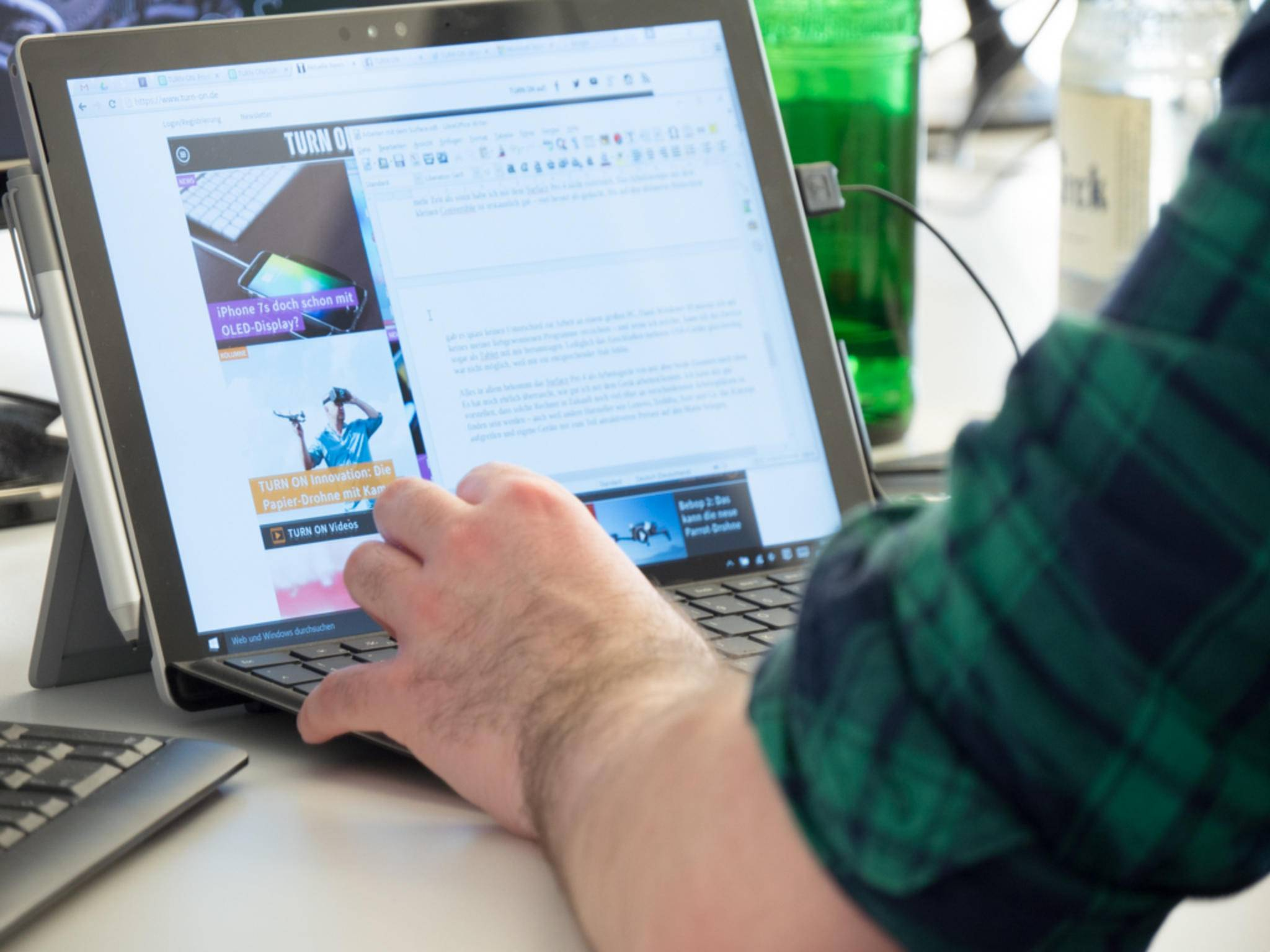 Kann sich das Surface Pro 4 im Arbeitsalltag beweisen?