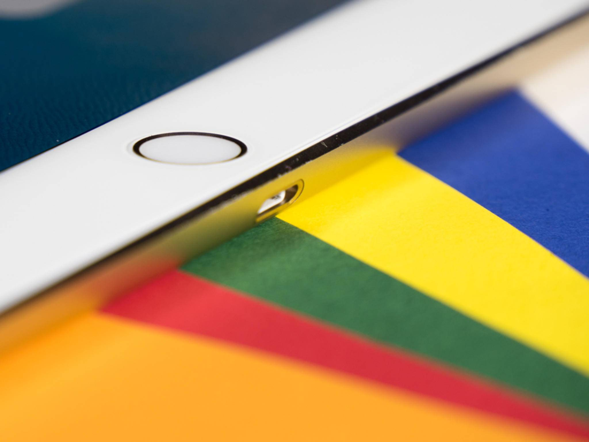 Der Home-Button des iPad Pro.
