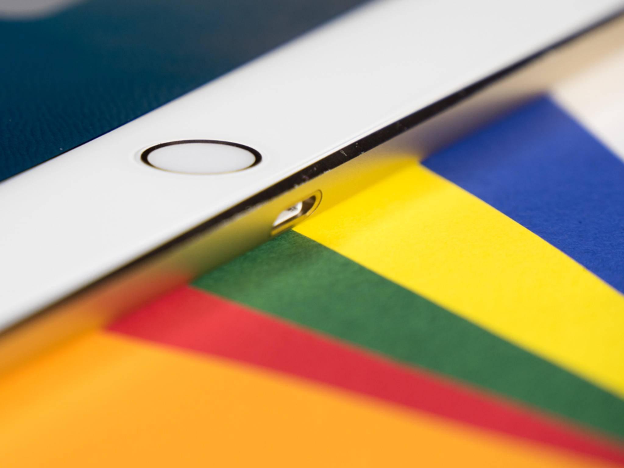 Auch über den Connector kann man ein iPad identifizieren.