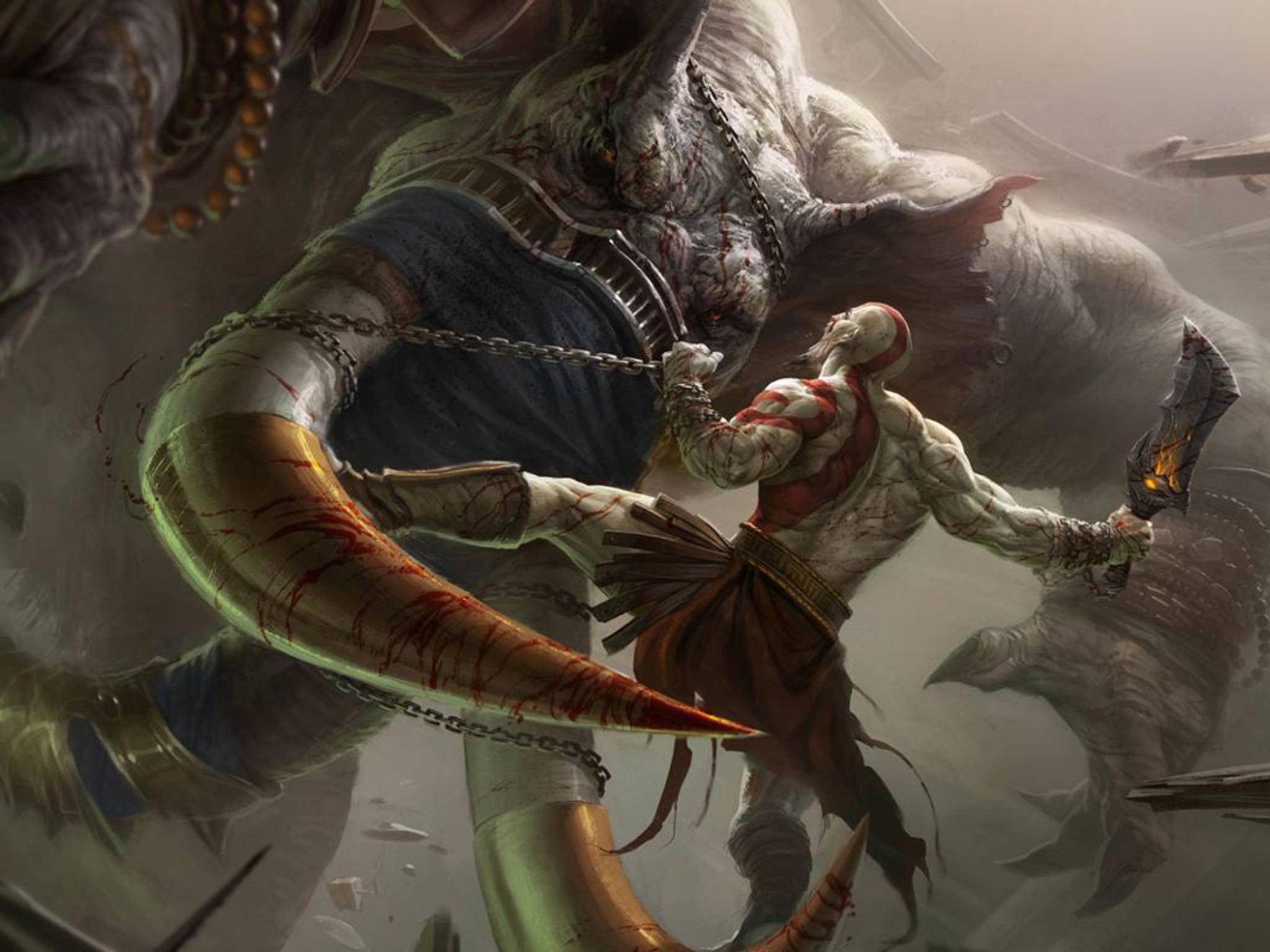 """Die """"God of War""""-Serie ist vollgestopft mit epischen Boss-Kämpfen."""