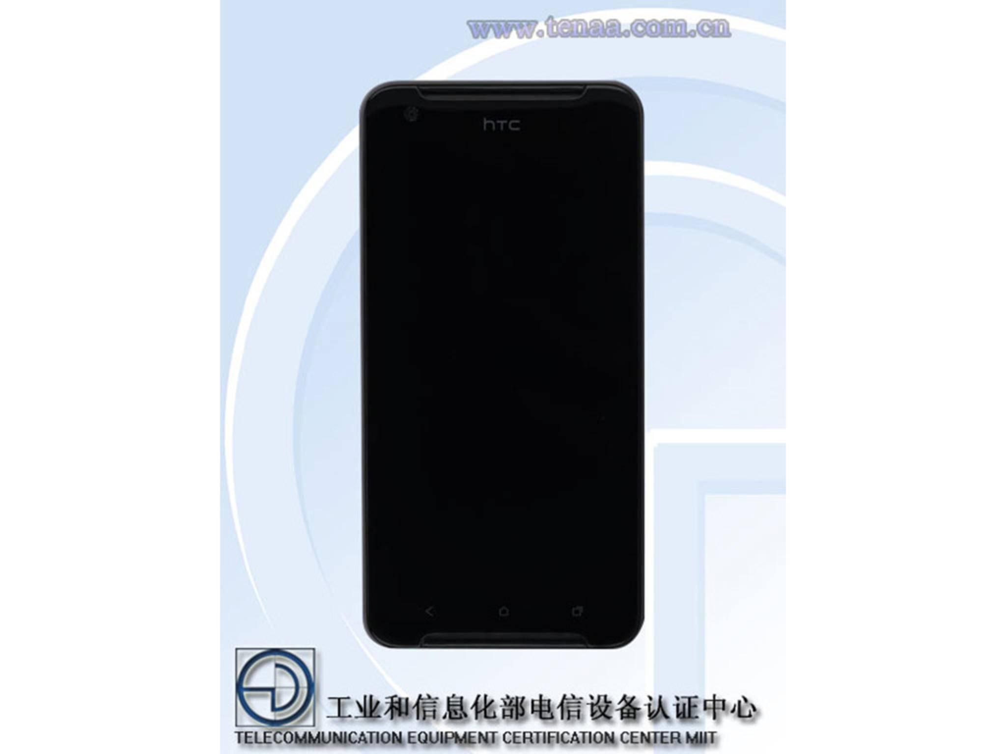 Das HTC One X9 wurde bereits von der chinesischen Behörde TENAA zertifiziert.