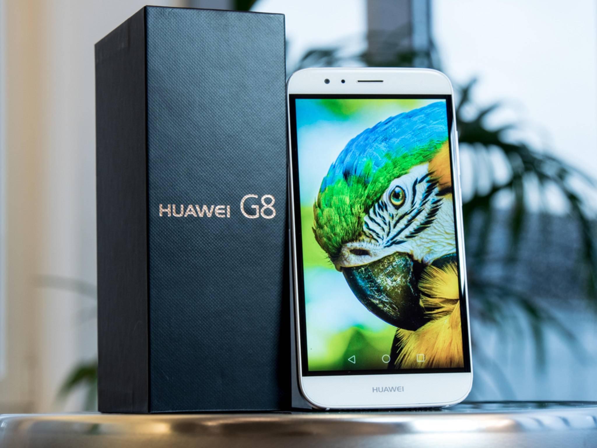 Das Huawei G8 im Test: Was kann das Mittelklasse-Smartphone?