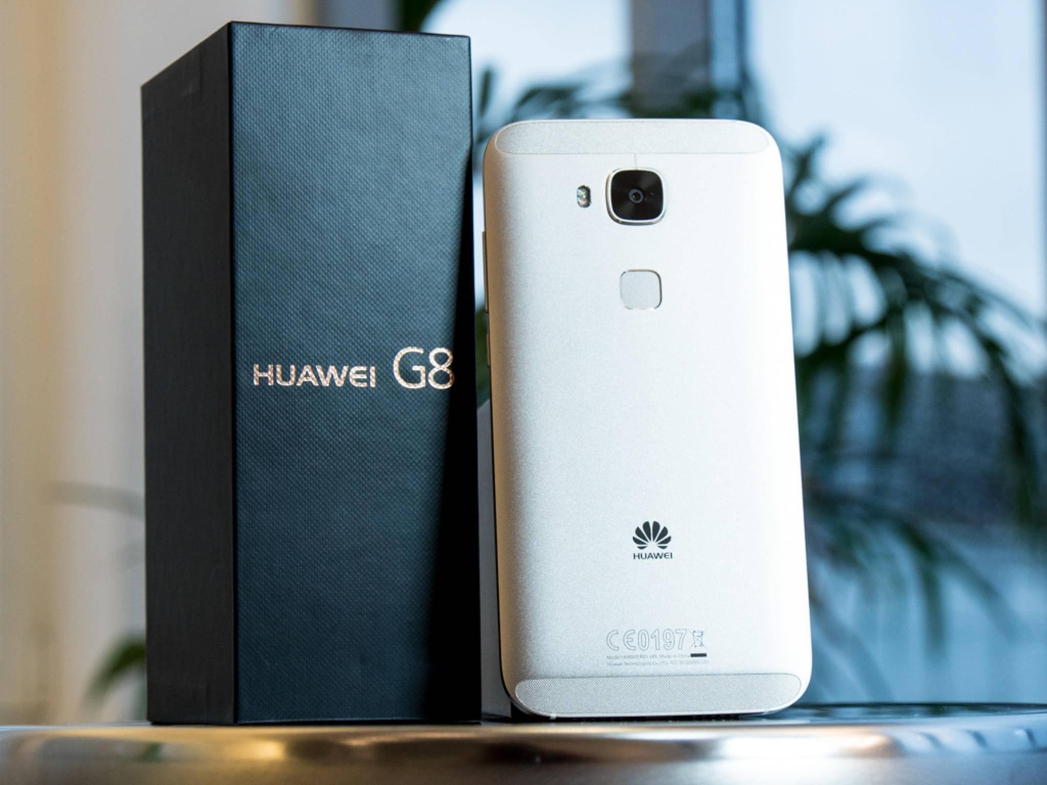Ein Vertreter der neuen Mittelklasse: Das Huawei G8.