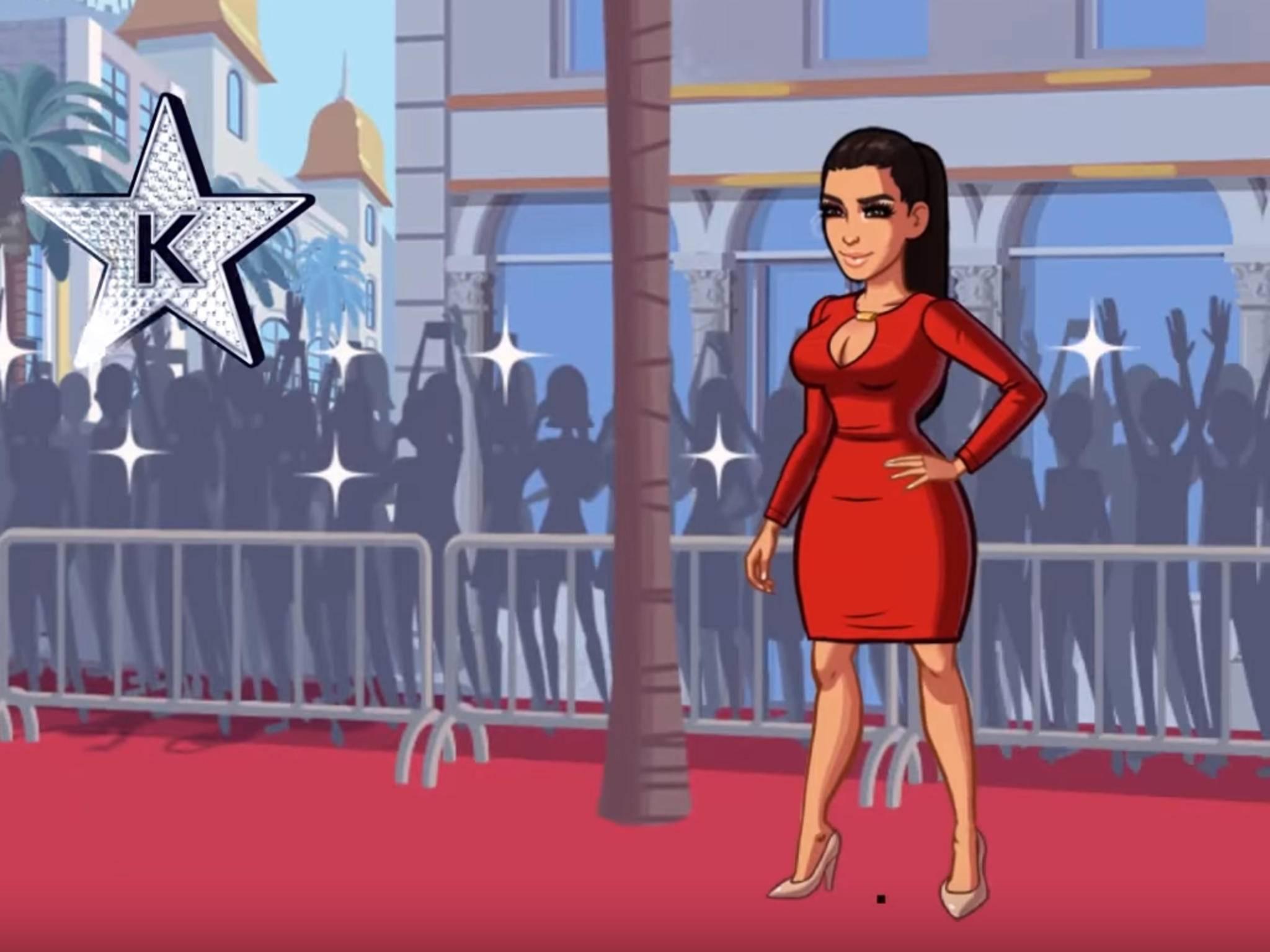 Kim Kardashians Mobile Game war ziemlich erfolgreich.