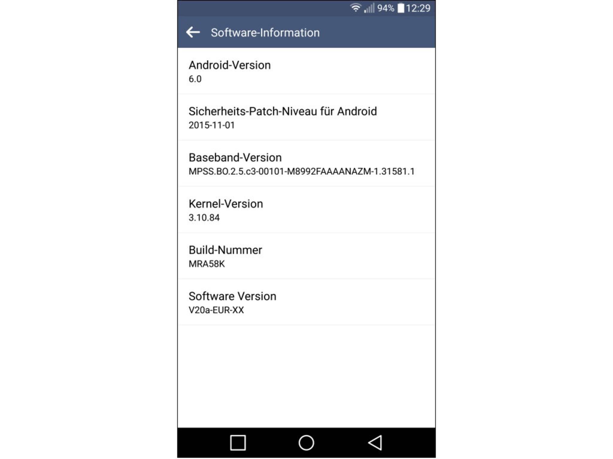 Das LG G4 erhält Android 6.0 rund zwei Monate nach dem Release des neuen OS.