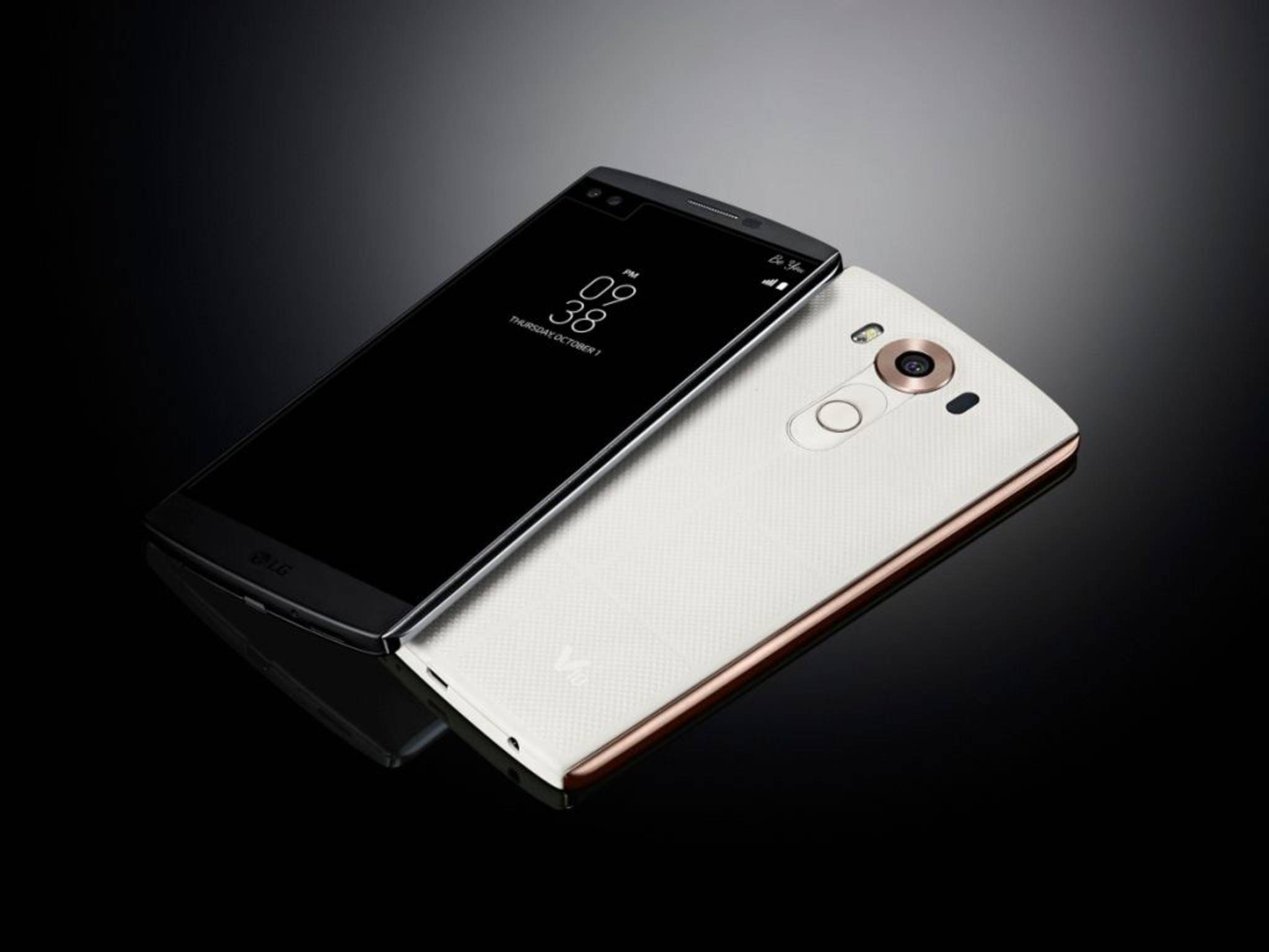 Das LG V10 bietet unter anderem ein robustes Gehäuse.