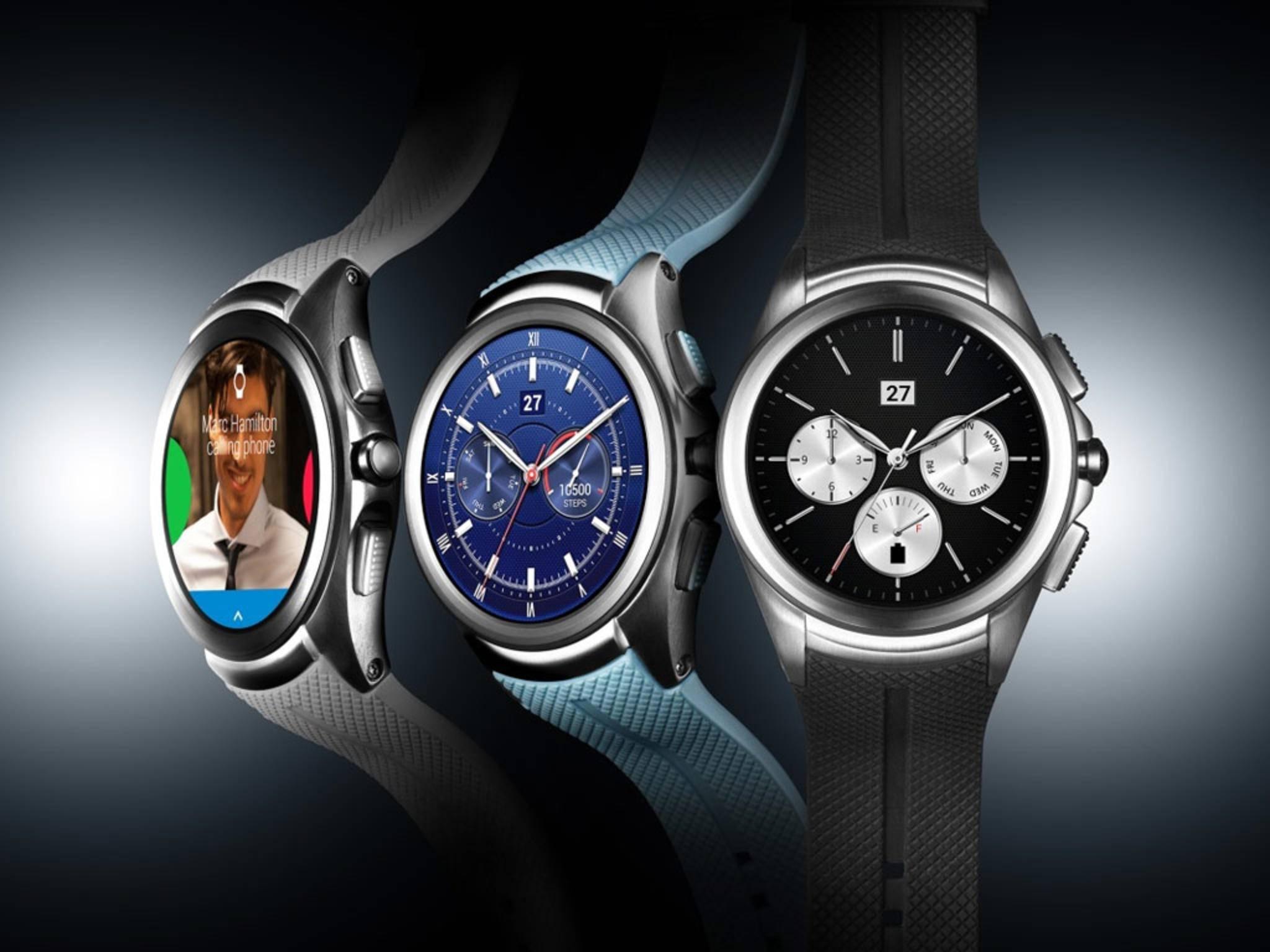 Wird nicht mehr verkauft: Die LG Watch Urbane 2nd Edition.