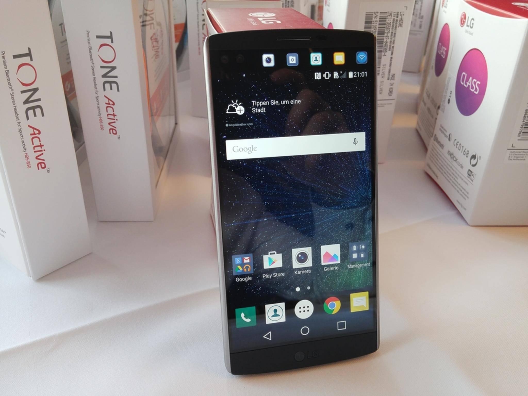 Das LG V10 gibt sich kompromisslos. Kann es auch überzeugen?