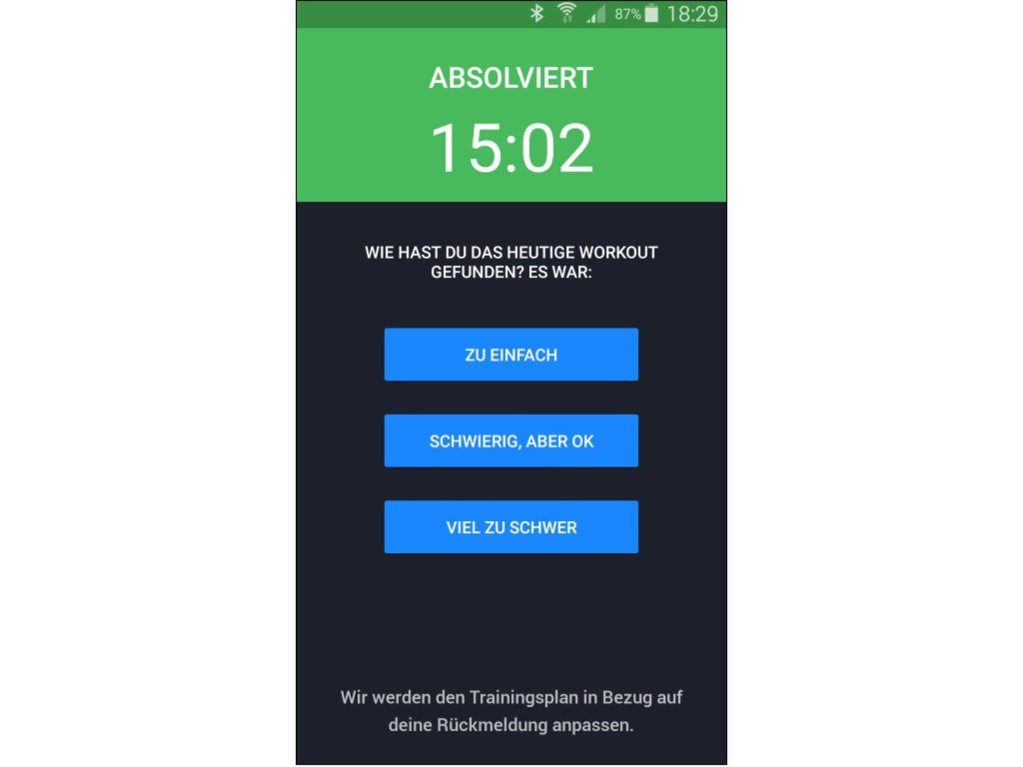 Runtastic Results App 2