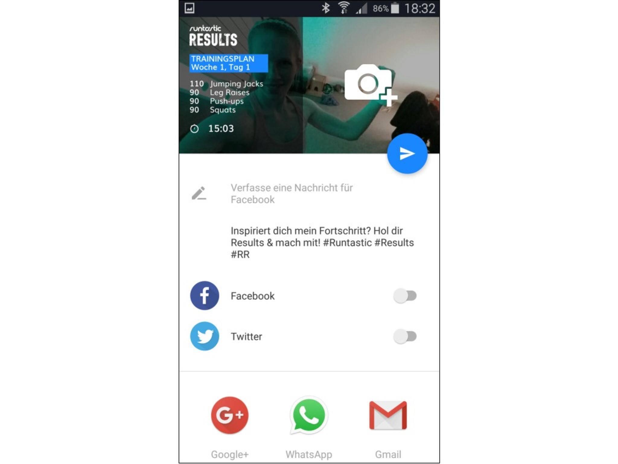 Runtastic Results App 5