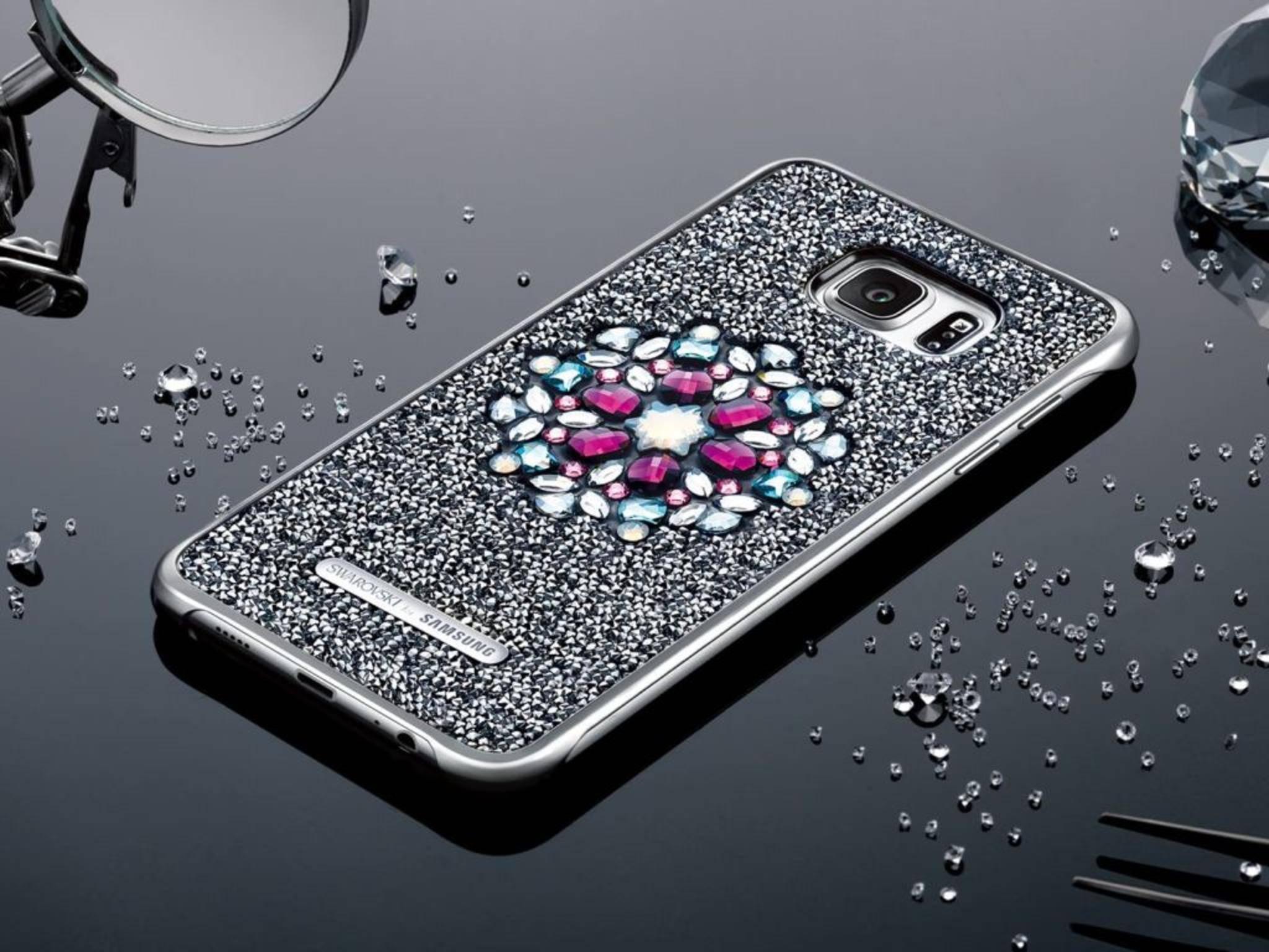 Wie das Galaxy S6 Edge+ soll auch das Galaxy S7 ein Glitter Cover bekommen.