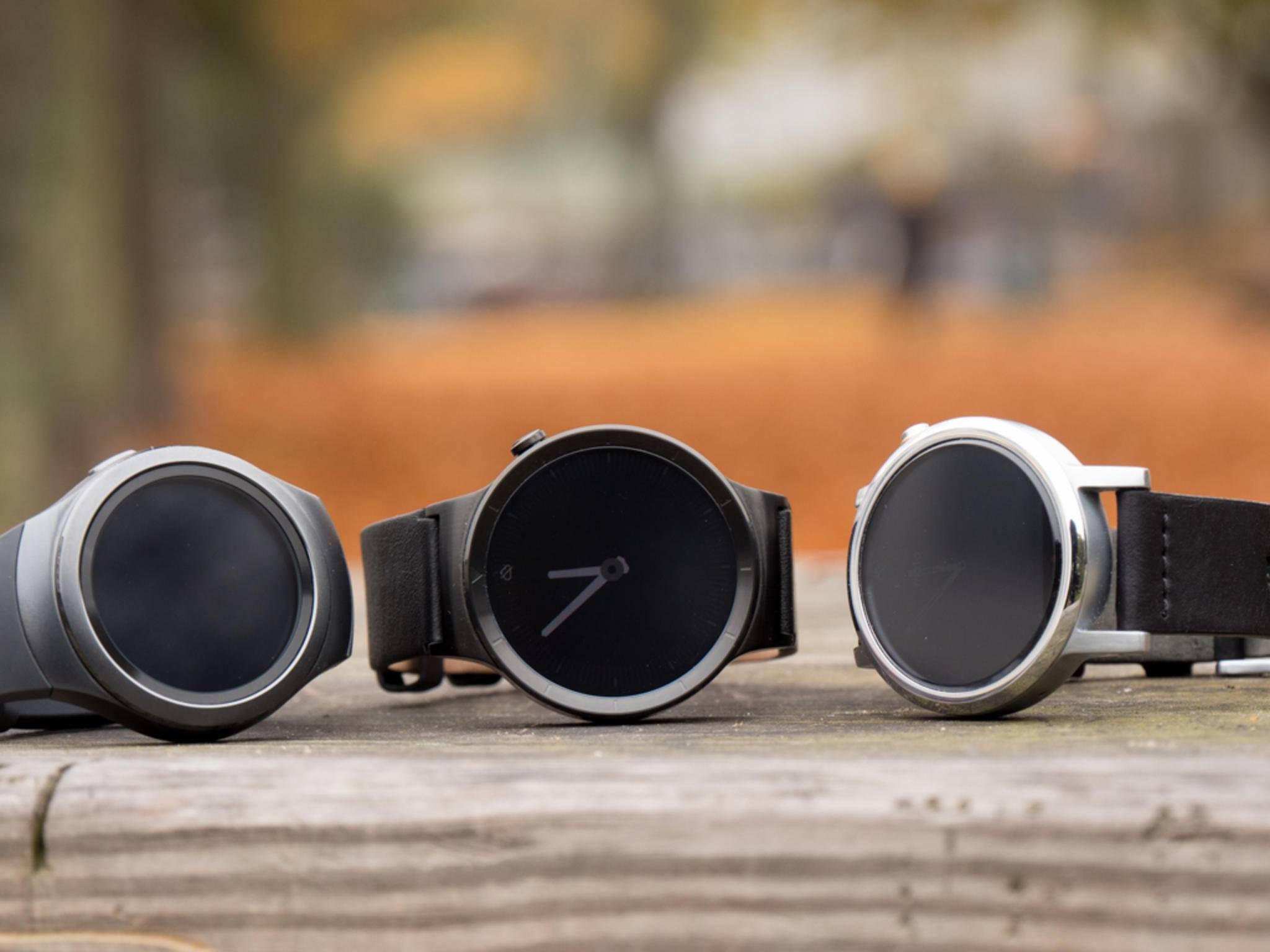 Das waren unsere besten Smartwatches 2015.