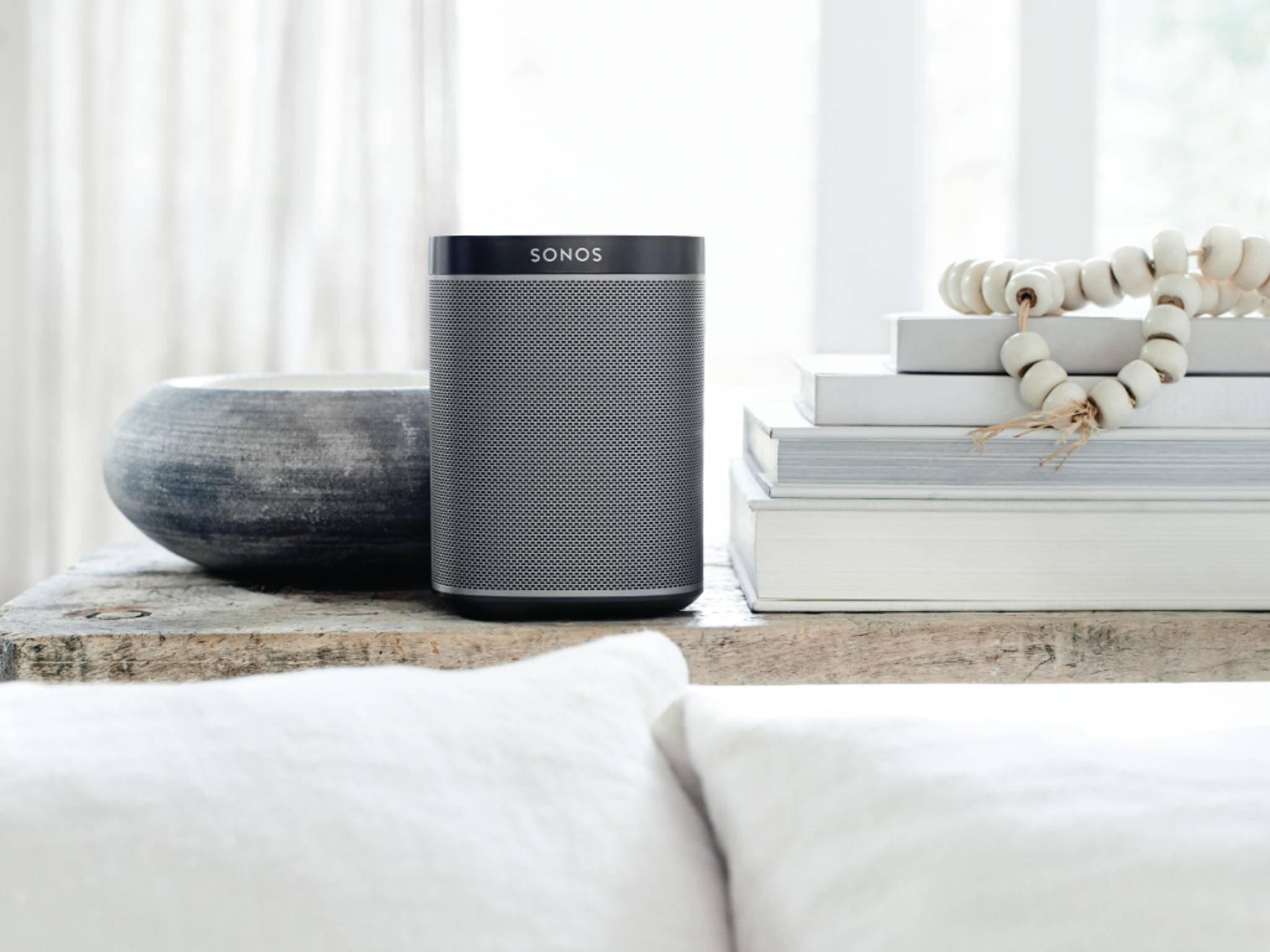 Sonos-Lautsprecher werden künftig auf Sprachsteuerung setzen.
