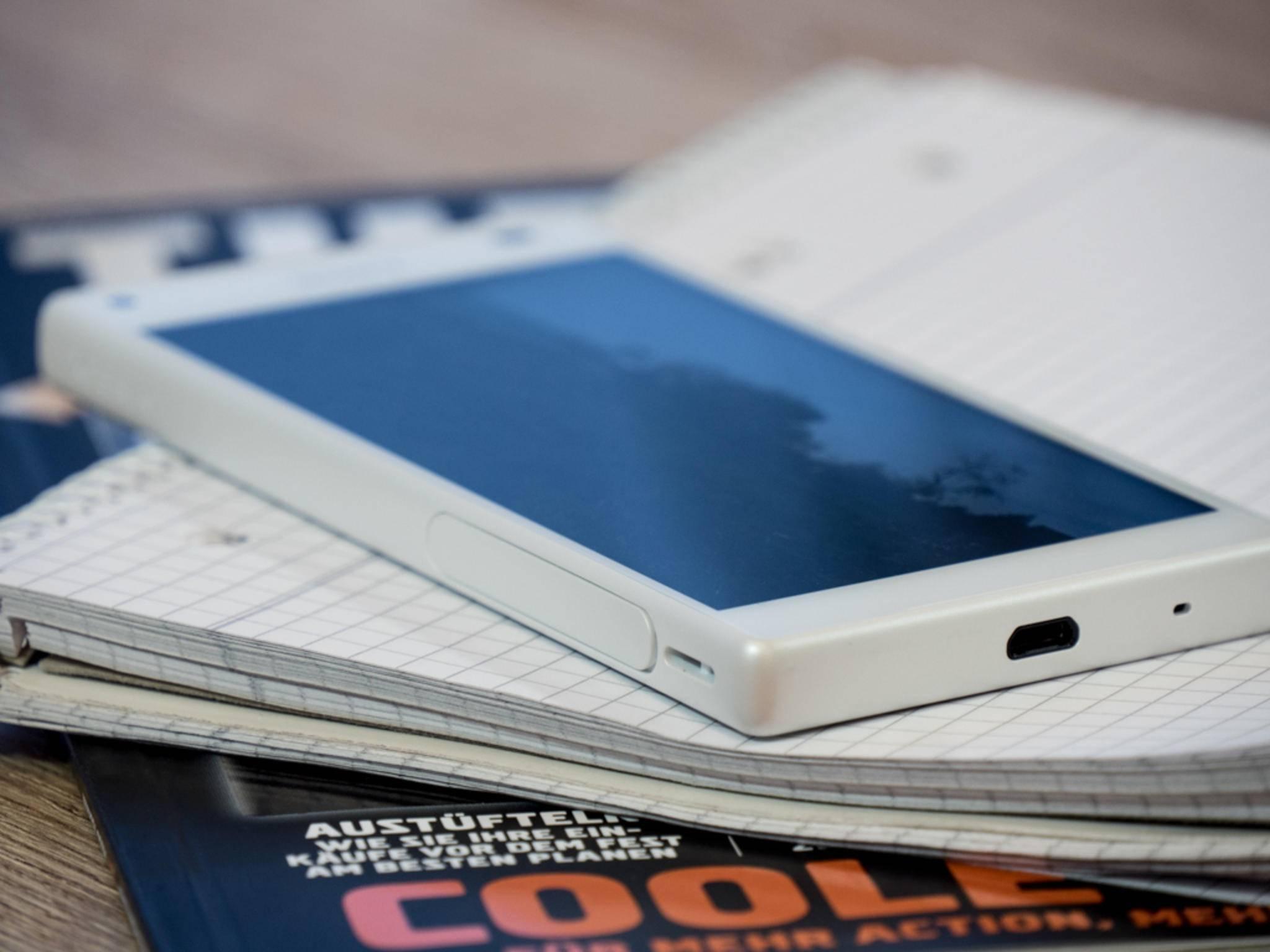 Das Sony Xperia Z5 Compact besitzt ein 4,6 Zoll-Display.