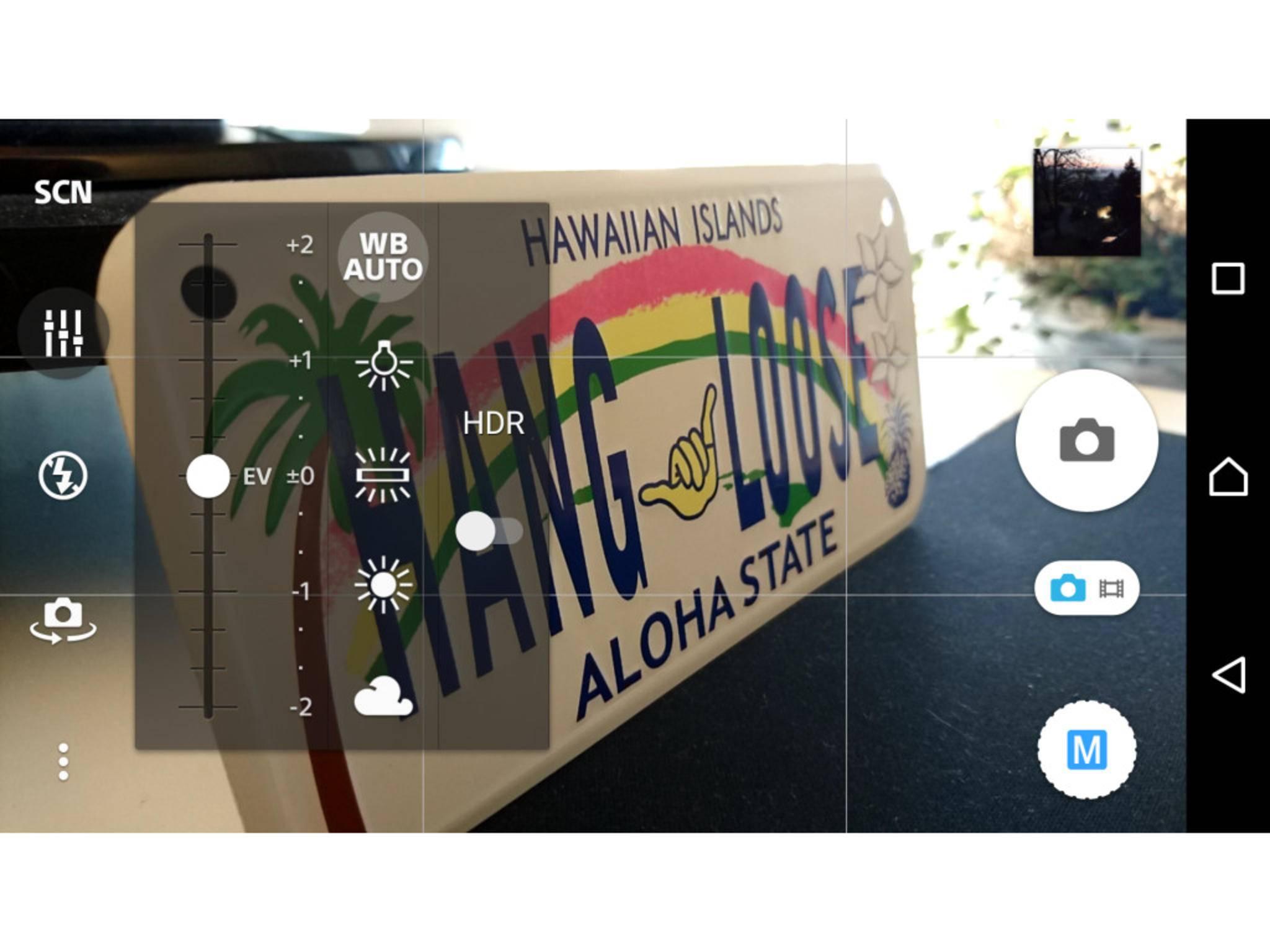 Der manuelle Modus lässt Dich erweiterte Kameraeinstellungen vornehmen.