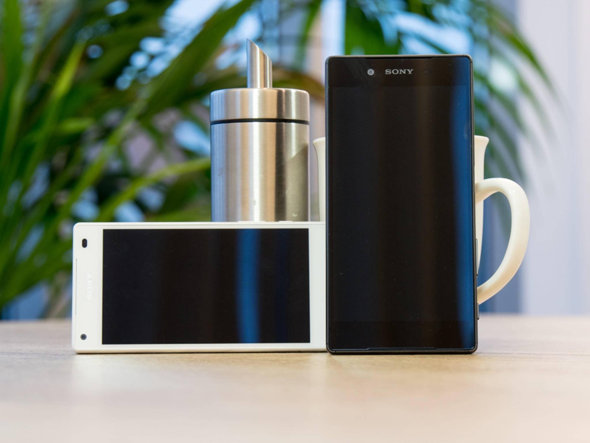 Sony Xperia Z5 und Z5 Compact 1