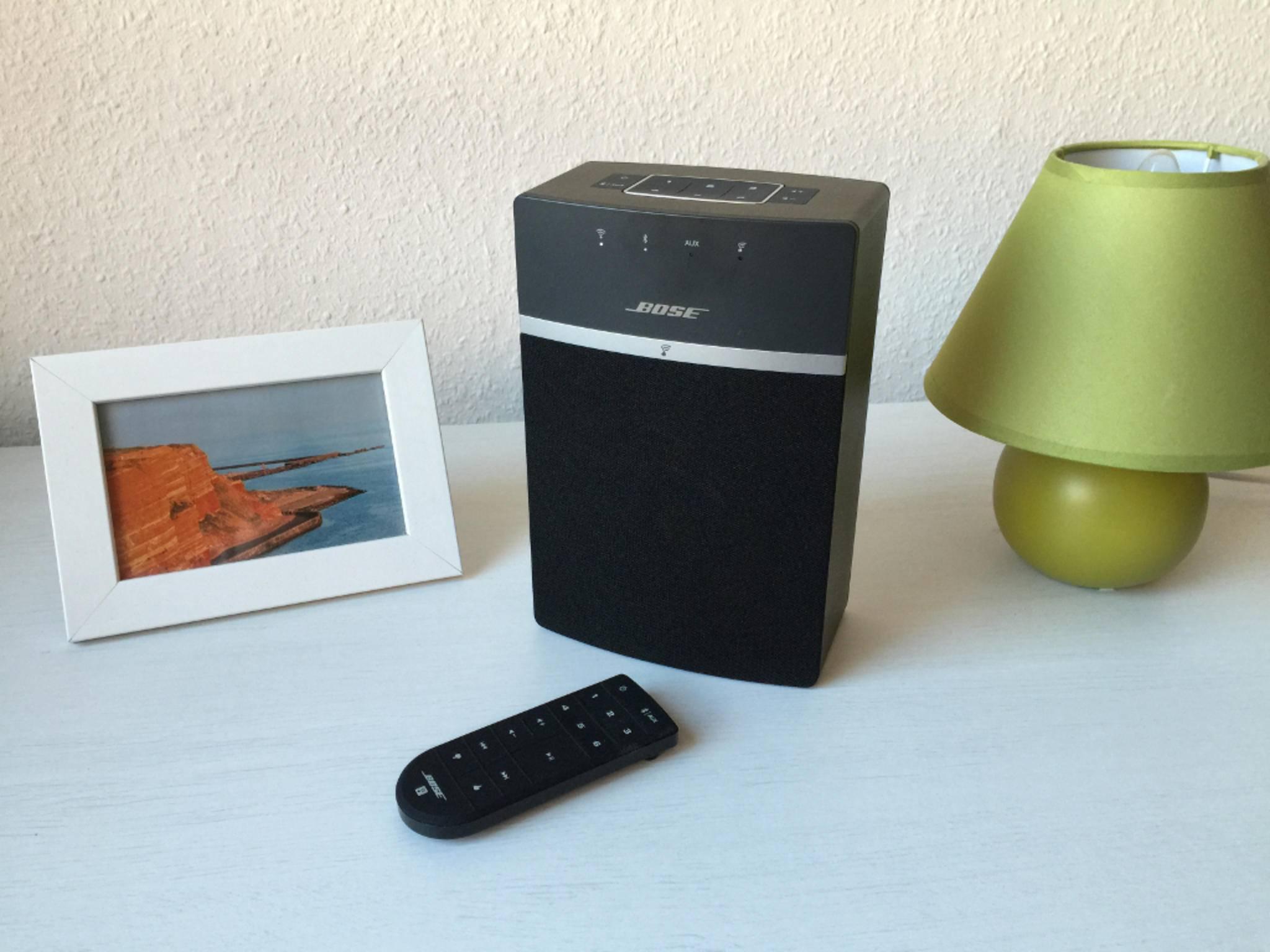Der Bose SoundTouch 10 ist ein kompakter Funklautsprecher.