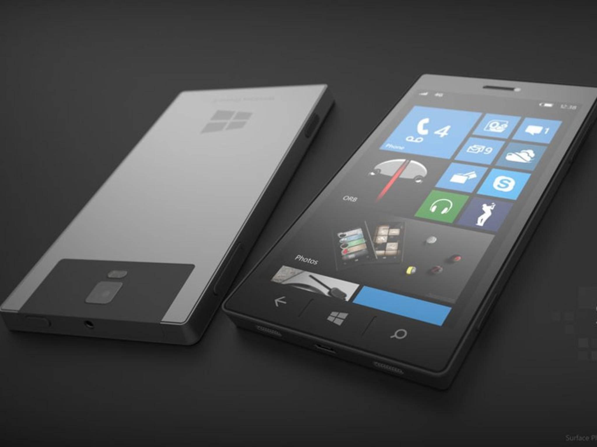 Das Surface Phone könnte 2017 in drei Versionen erscheinen.