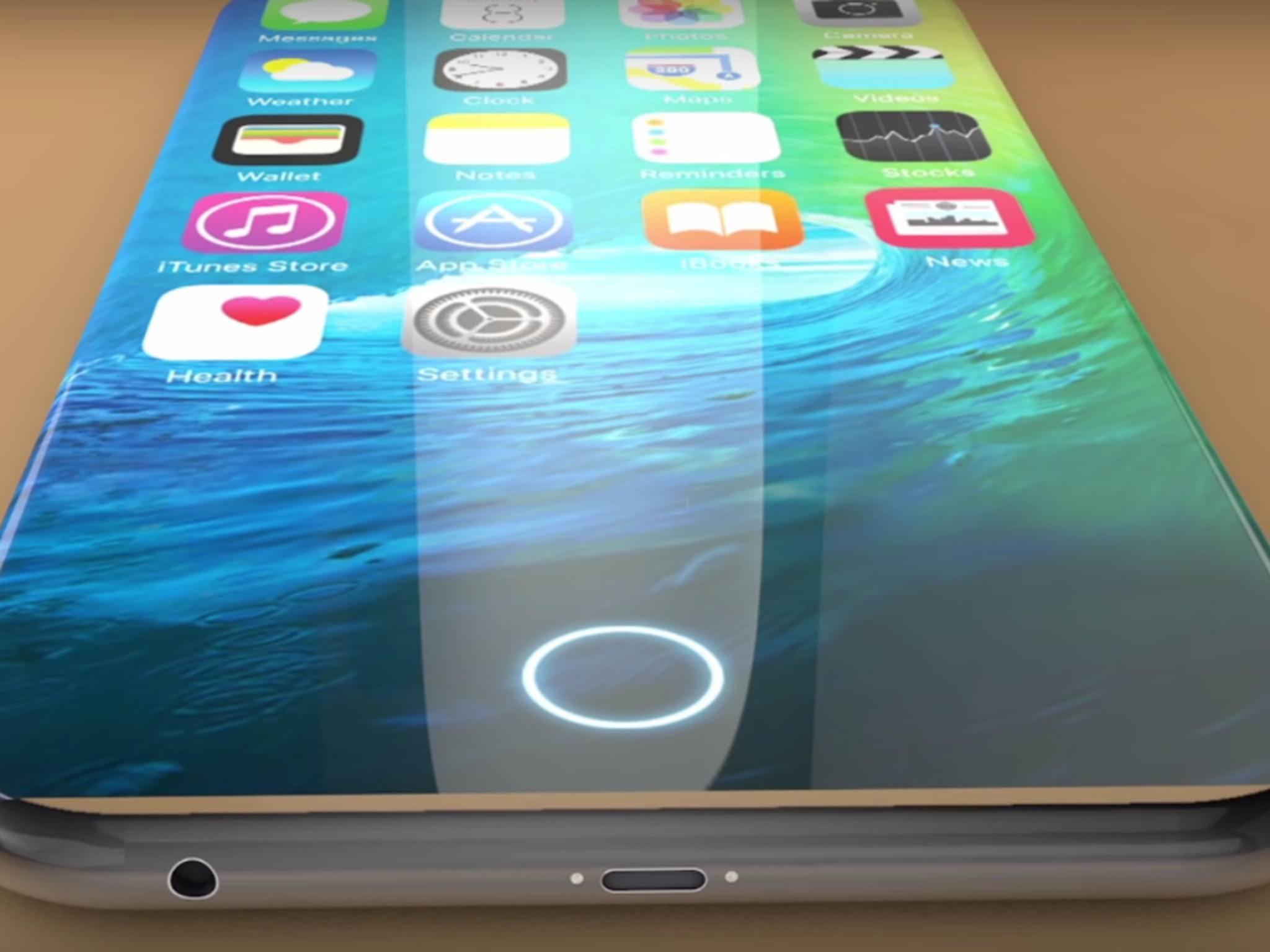 Das iPhone 8 könnte erstmals ein OLED-Display bekommen.