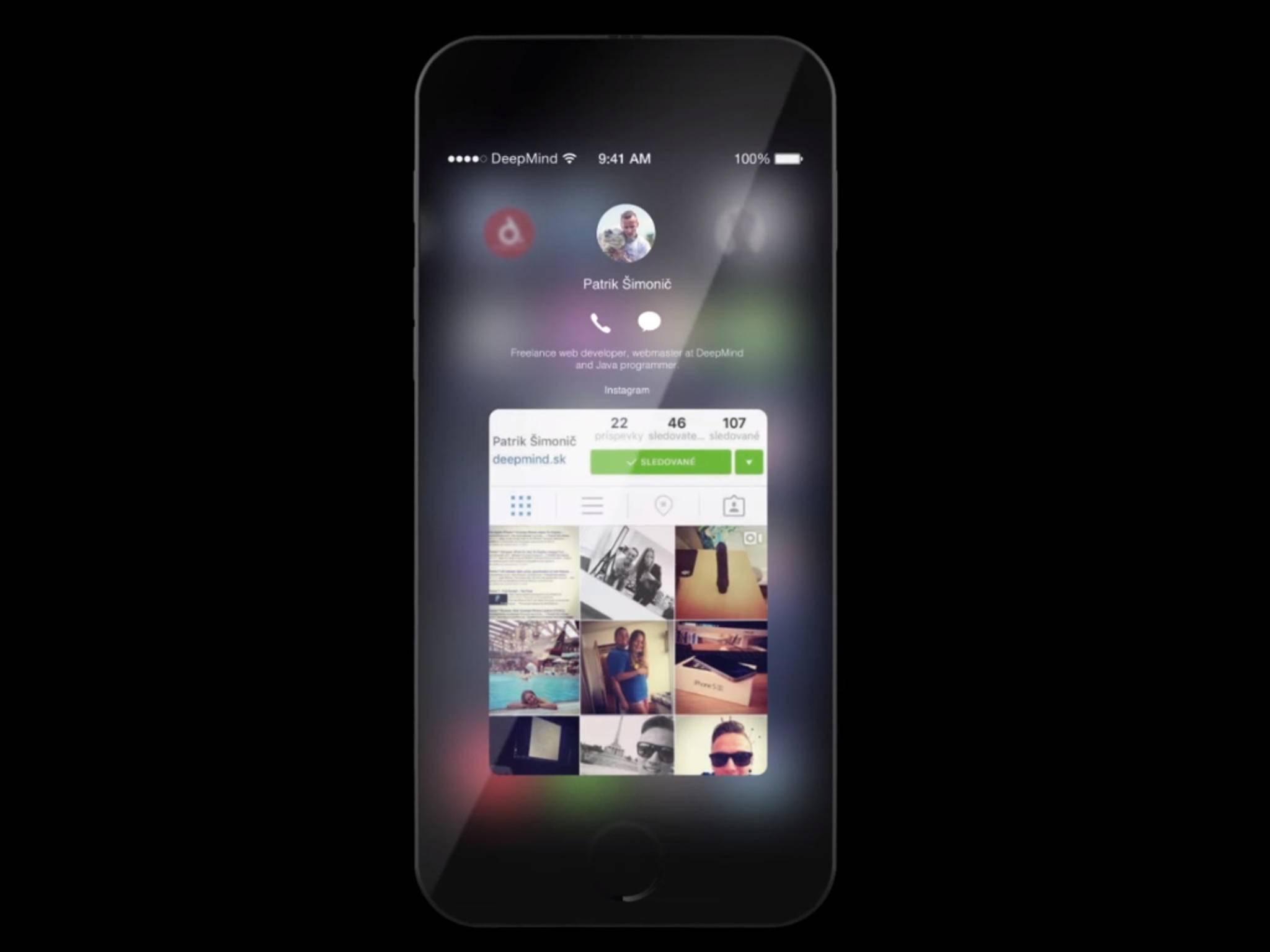 Von iOS 10 gibt es bislang nur Konzept-Studien.