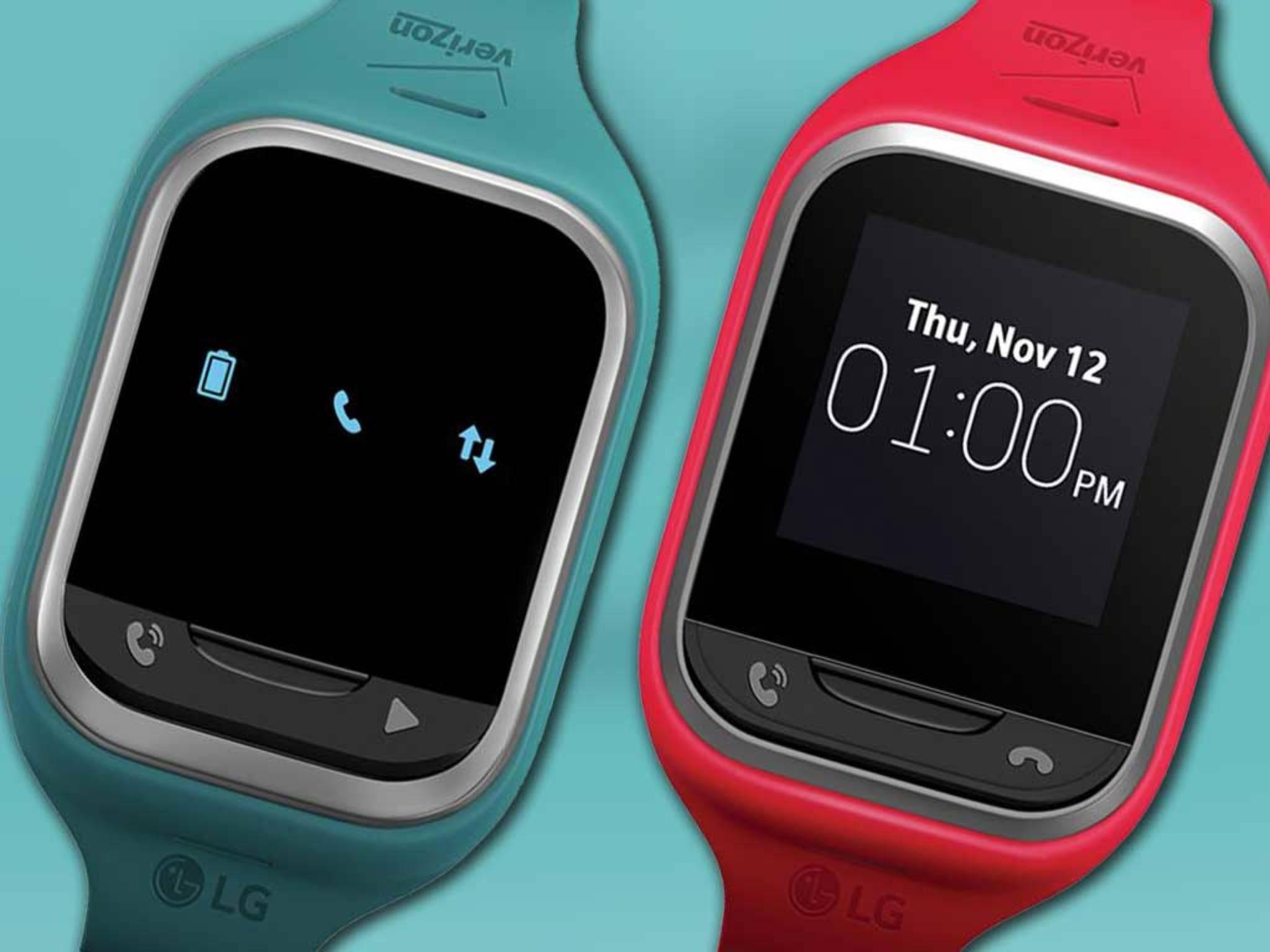 Bald verfügbar: Die neuen Wearables von LG speziell für Kinder.