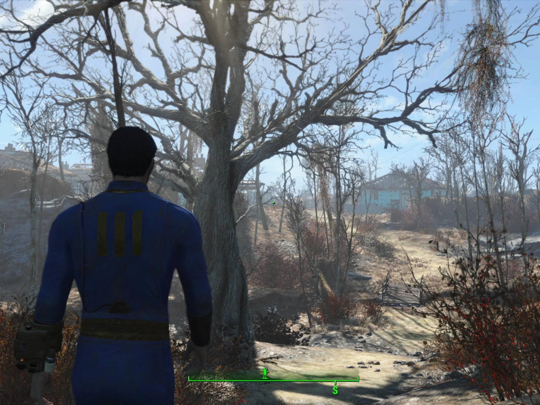 """""""Fallout 4"""" für den PC hat jetzt auch zerstörbare Umgebungen."""