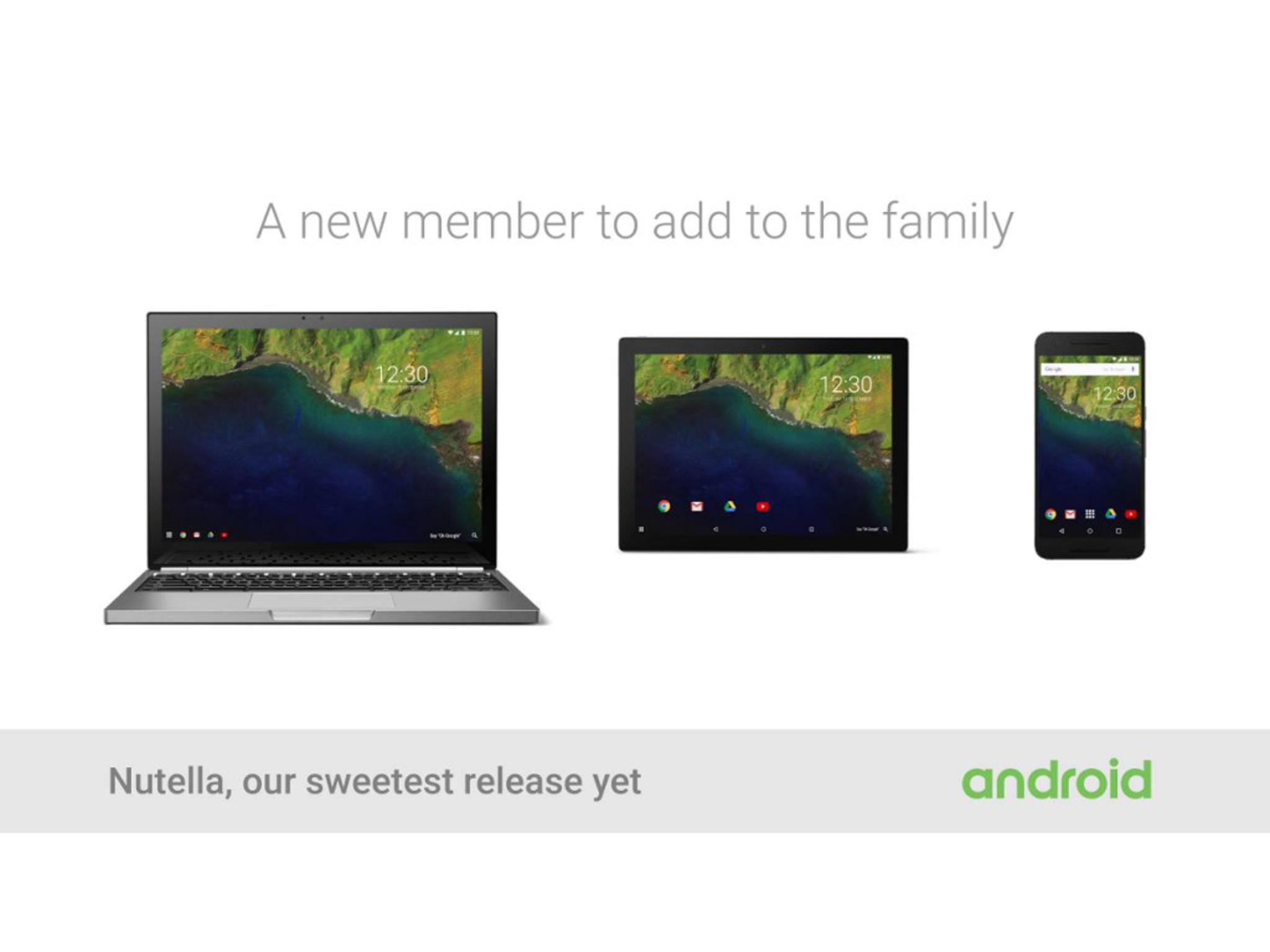 Ob der Name von Android 7.0 wirklich Nutella sein wird?