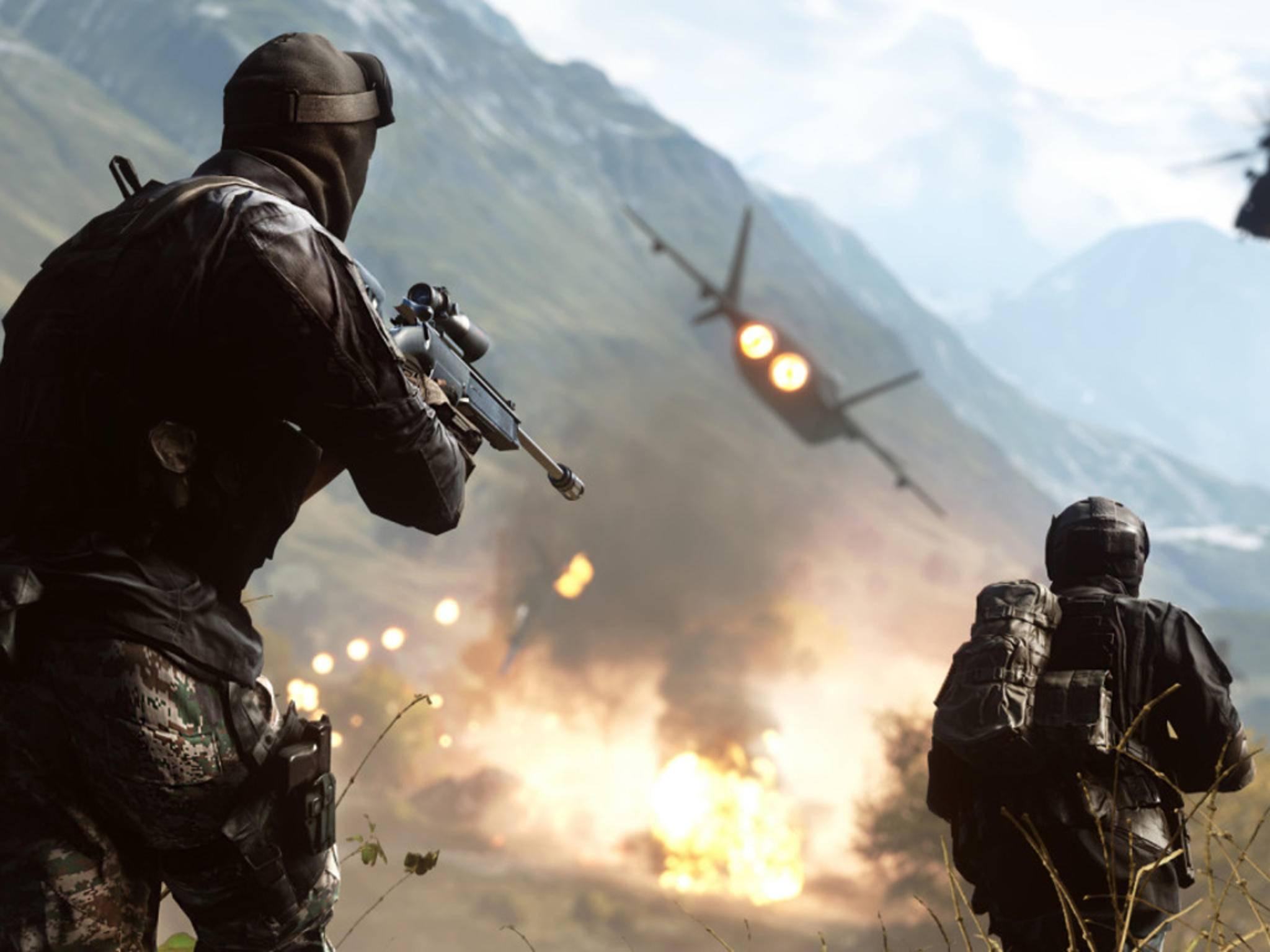 """Auch """"Battlefield 4"""" hatte lange mit Bugs zu kämpfen."""