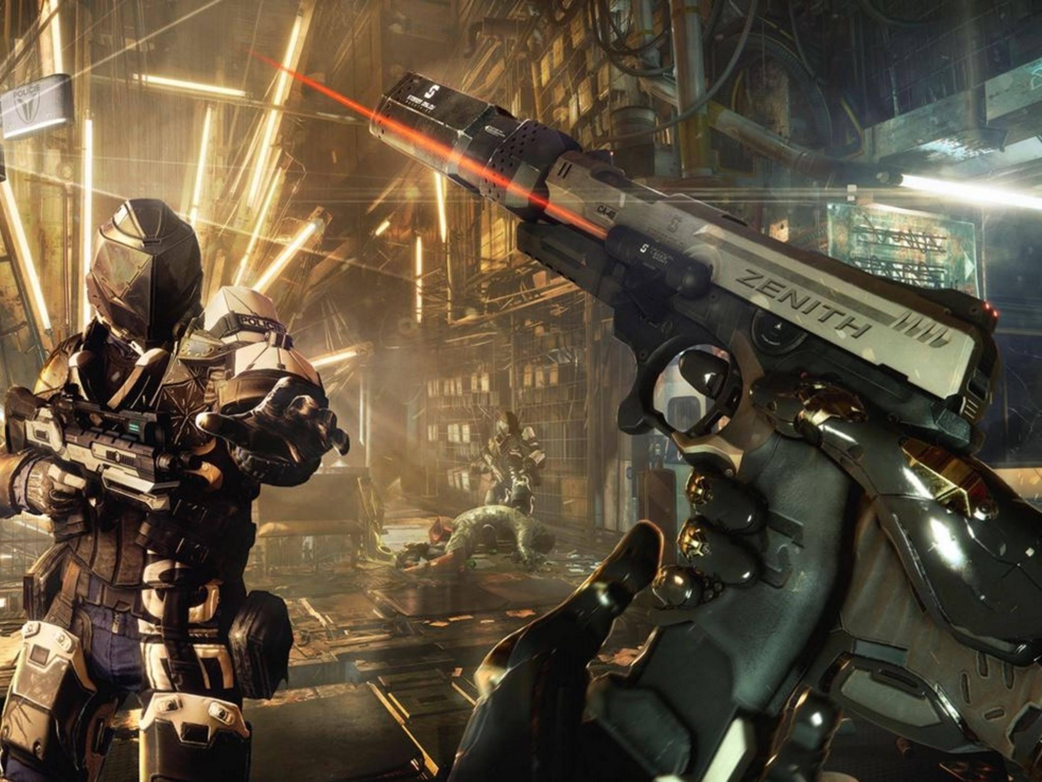 """In """"Deus Ex: Mankind Divided"""" gibt es nicht nur viel zu ballern, sondern auch viel zu entdecken."""