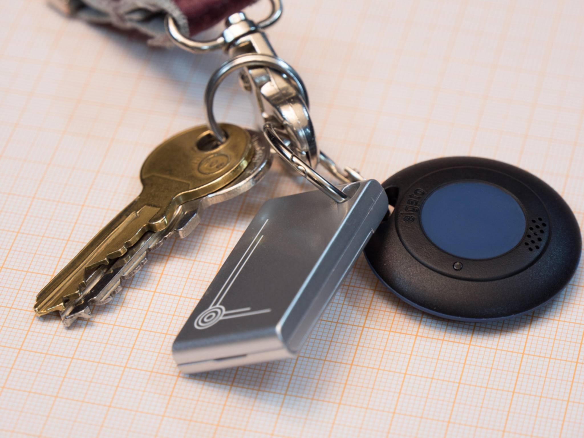Smart Key und Gatekeeper passen perfekt an den Schlüsselbund.