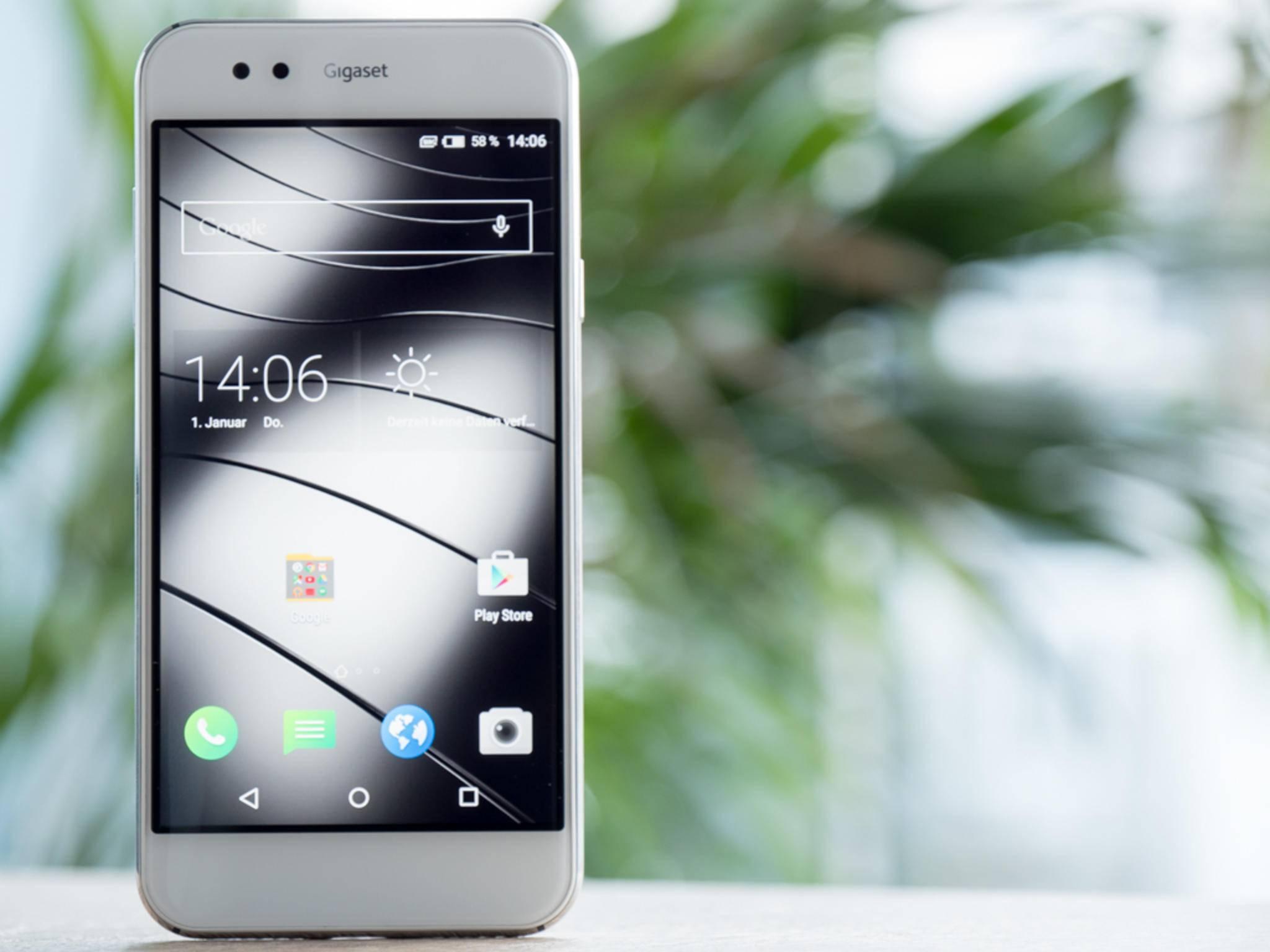Das erste Smartphone des deutschen Herstellers Gigaset überraschte uns.