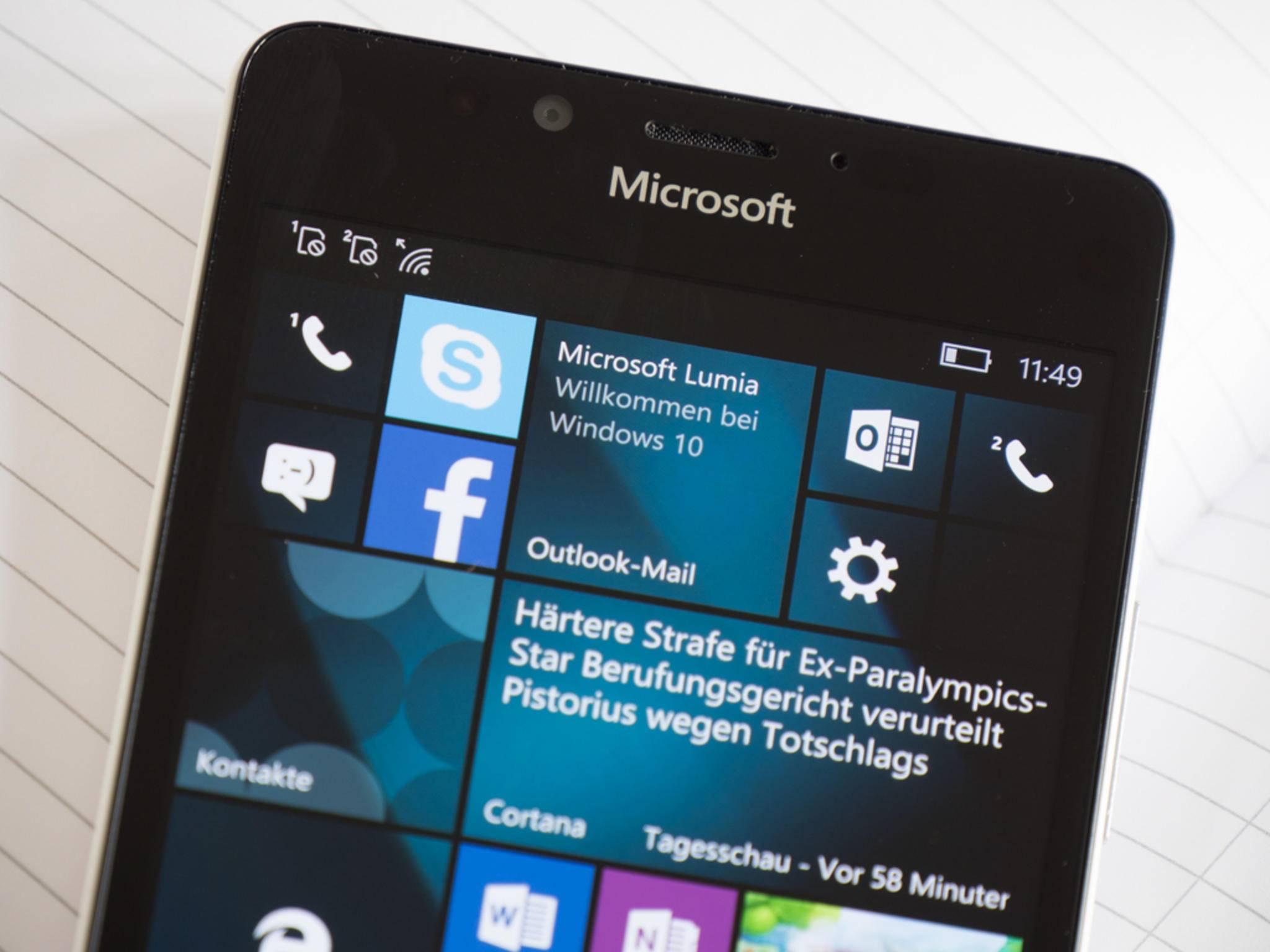 Android-Apps sollen nun doch nicht unter Windows 10 Mobile laufen.
