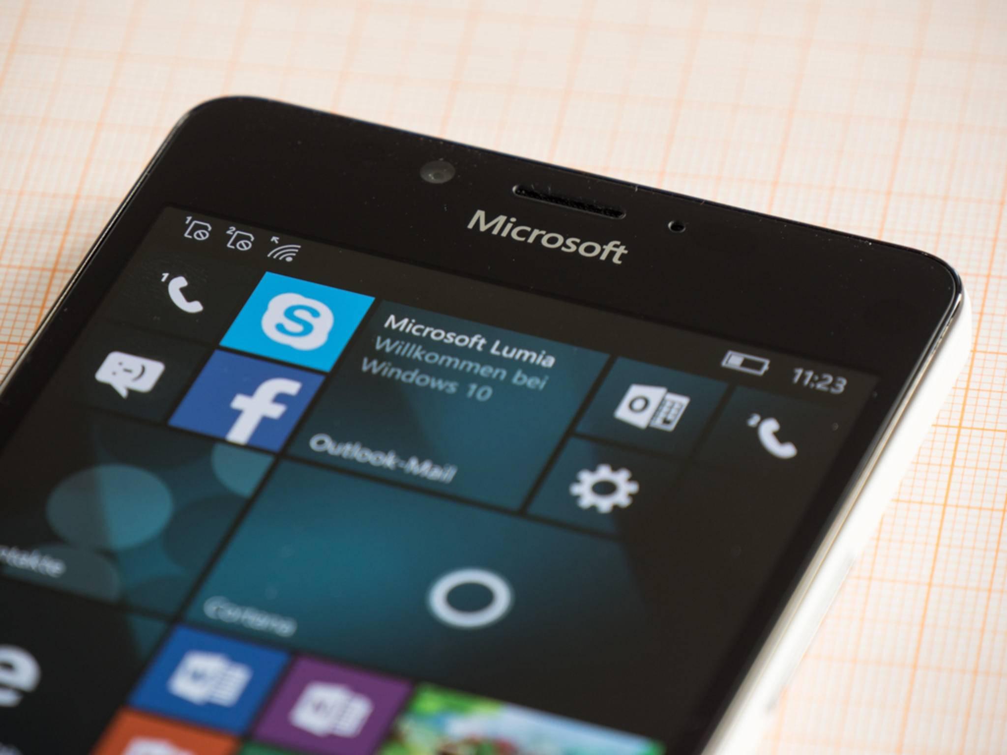 Software-Updates für Windows 10 Mobile sollen monatlich kommen.