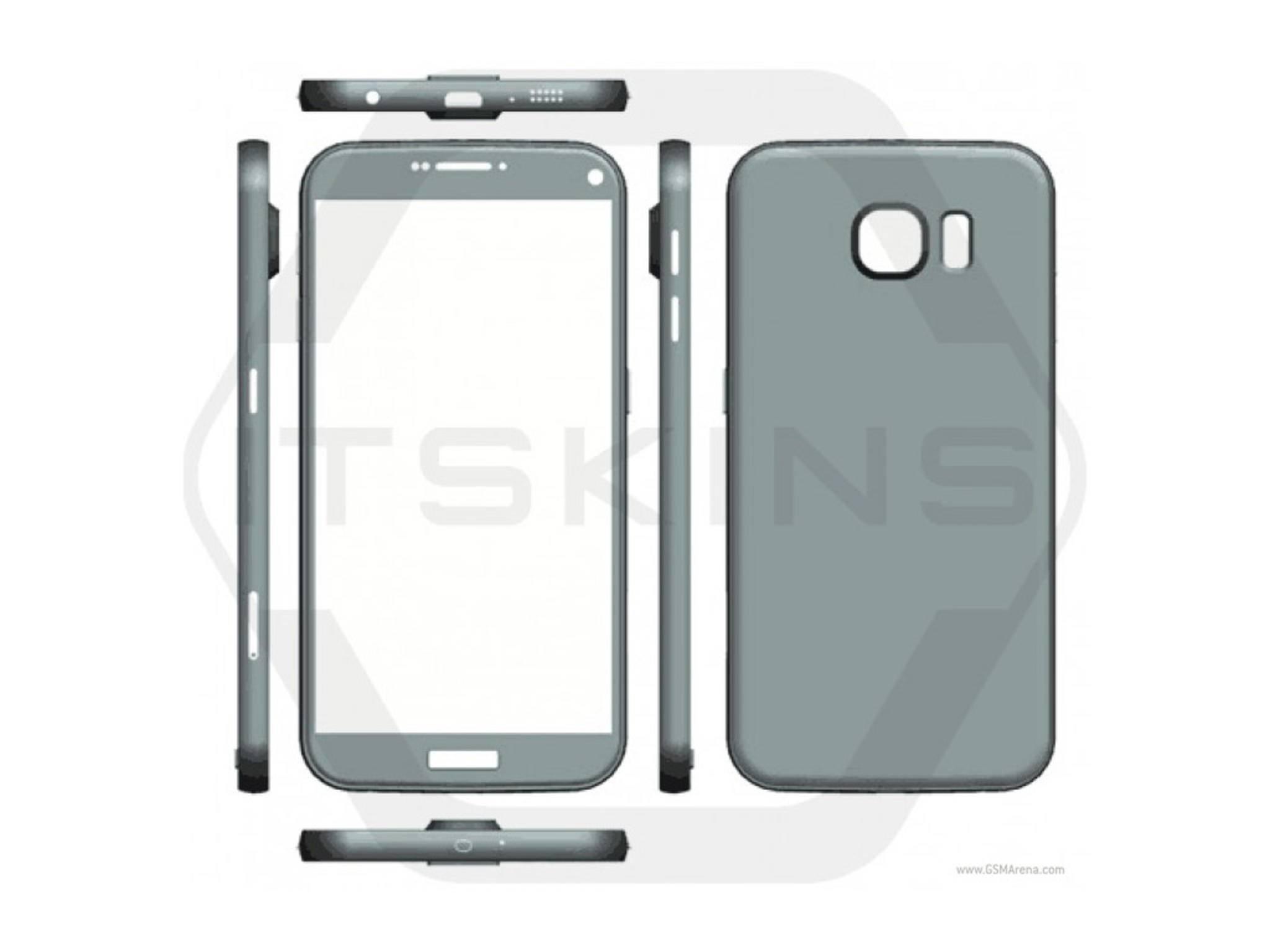 Das Galaxy S7 präsentiert sich in seinem ersten Render-Leak.