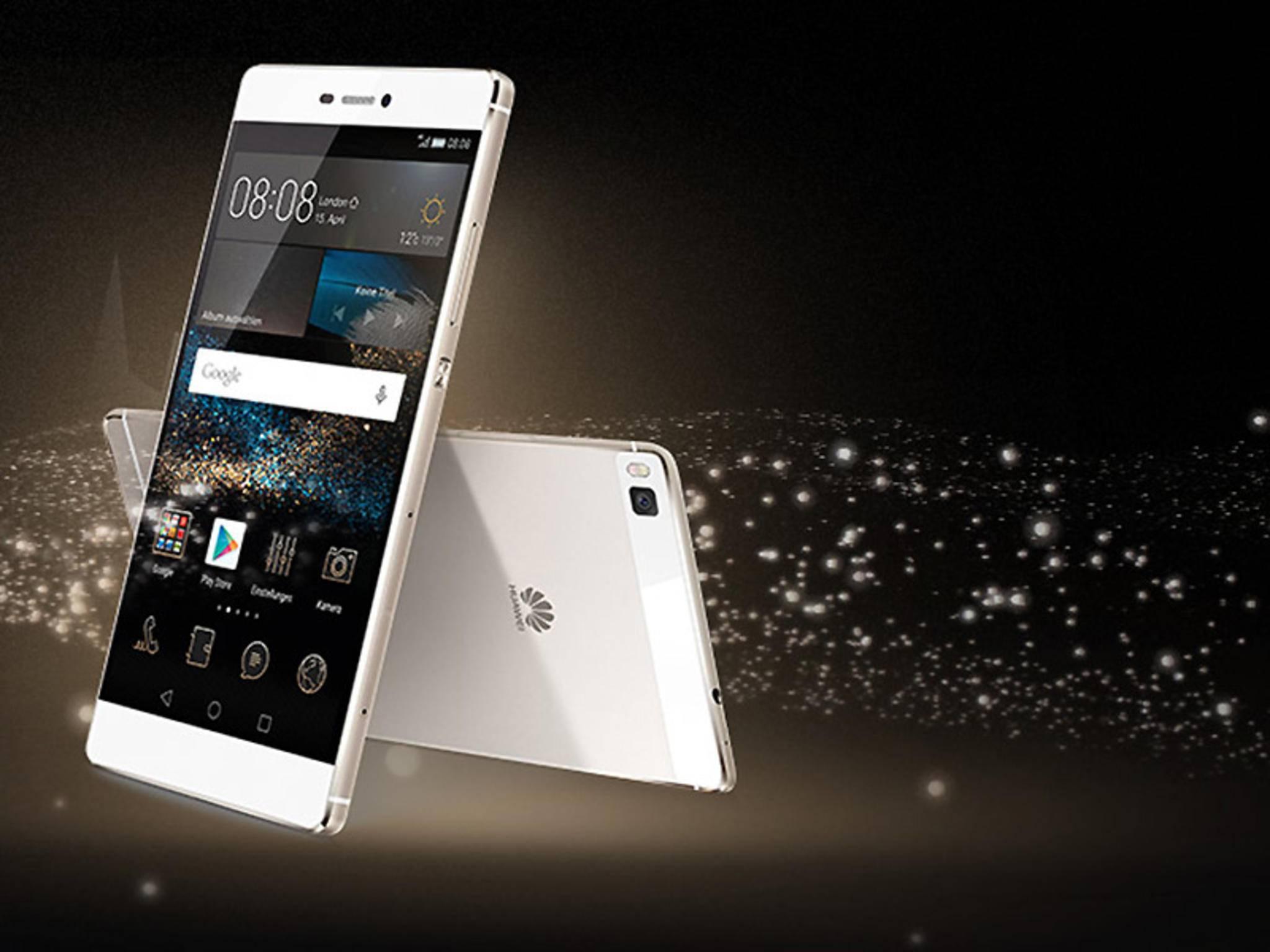 Das Huawei P8: Wird der Nachfolger P9 mit 6 GB RAM auf den Markt kommen?
