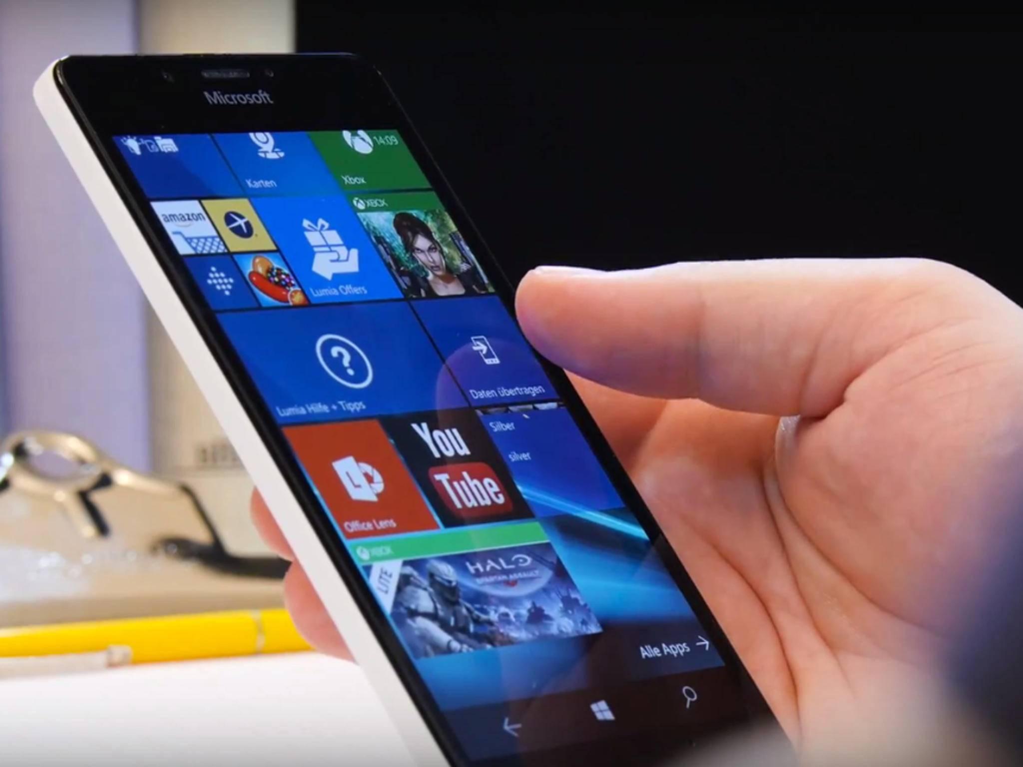 Windows 10 auf dem Lumia 950: Ältere Geräte müssen weiter auf das Update warten.