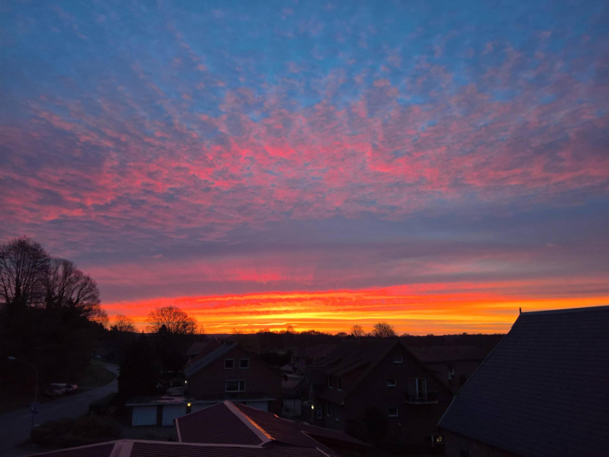 Zur Abwechslung noch ein Sonnenuntergang.