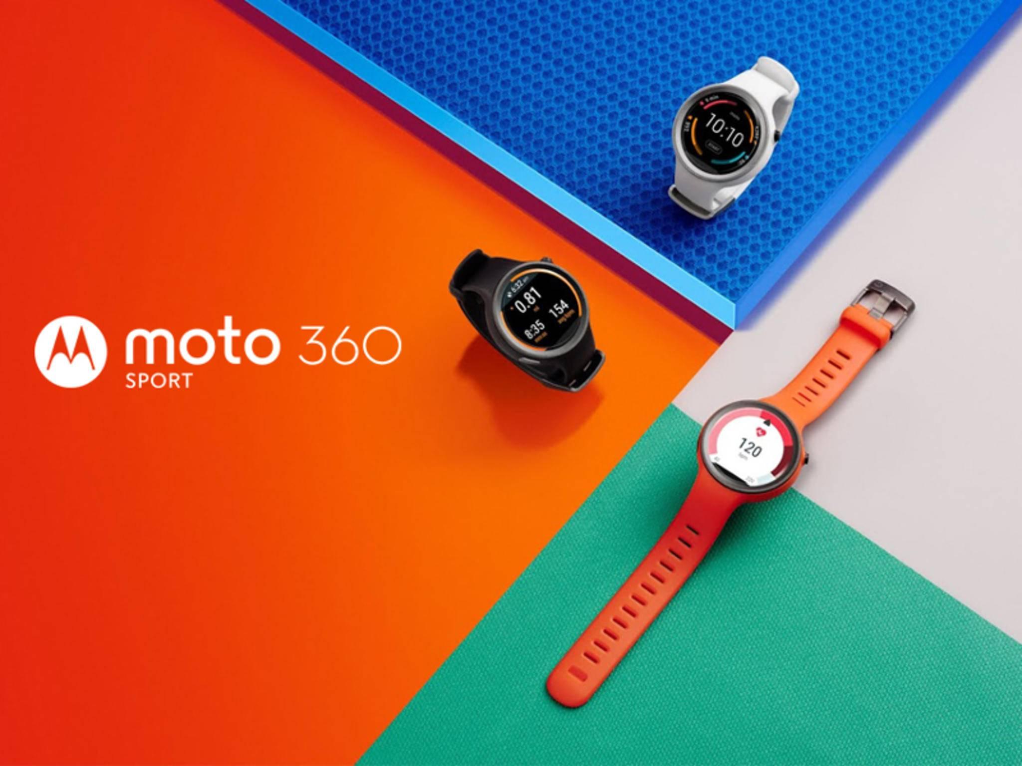 Die Moto 360 Sport richtet sich vor allem an Sportler.