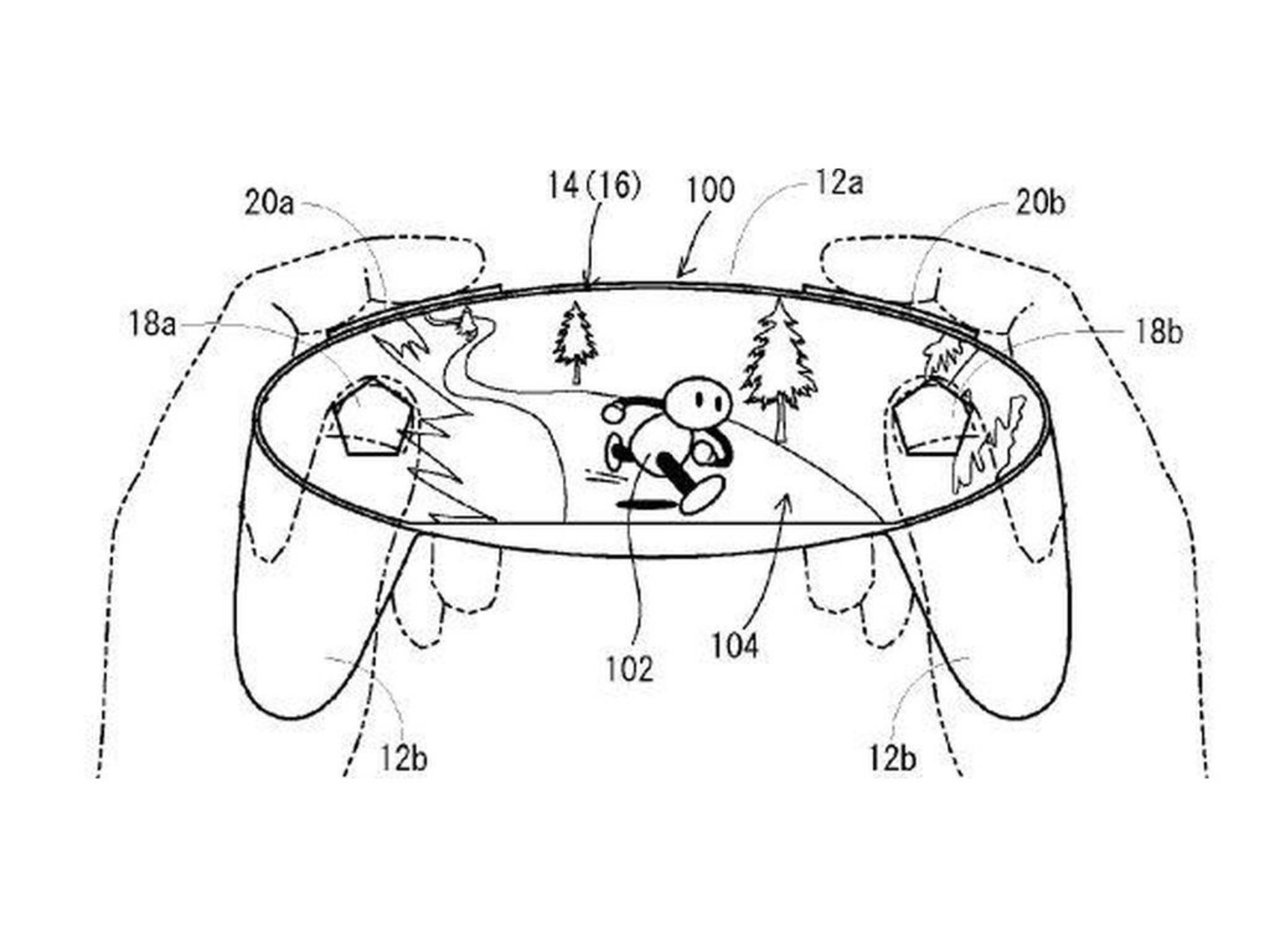 Nintendo reichte ein Patent für einen abgefahrenen Controller ein.